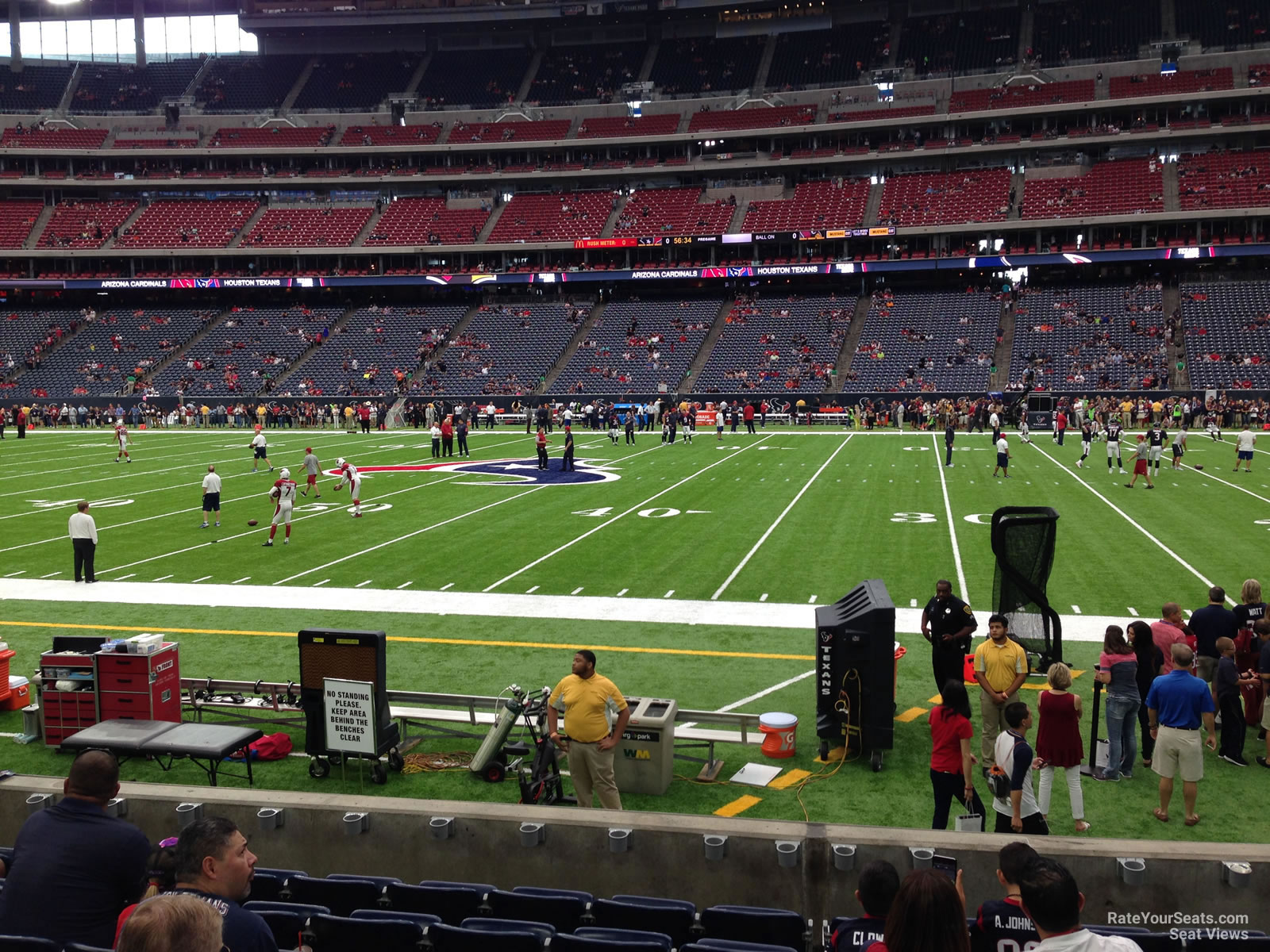 Houston Texans Seat View for NRG Stadium Section 125, Row C