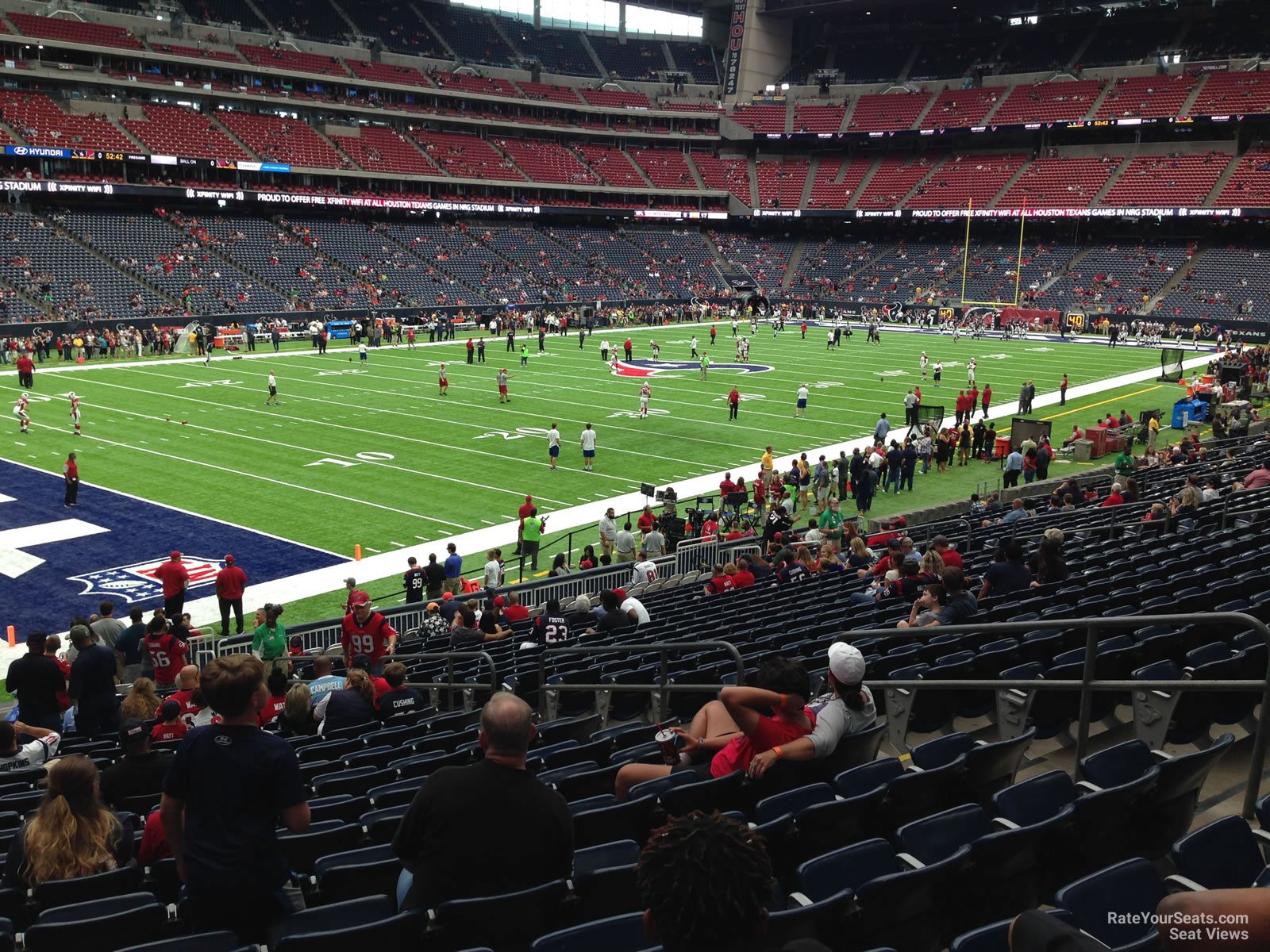 Houston Texans Seat View for NRG Stadium Section 132