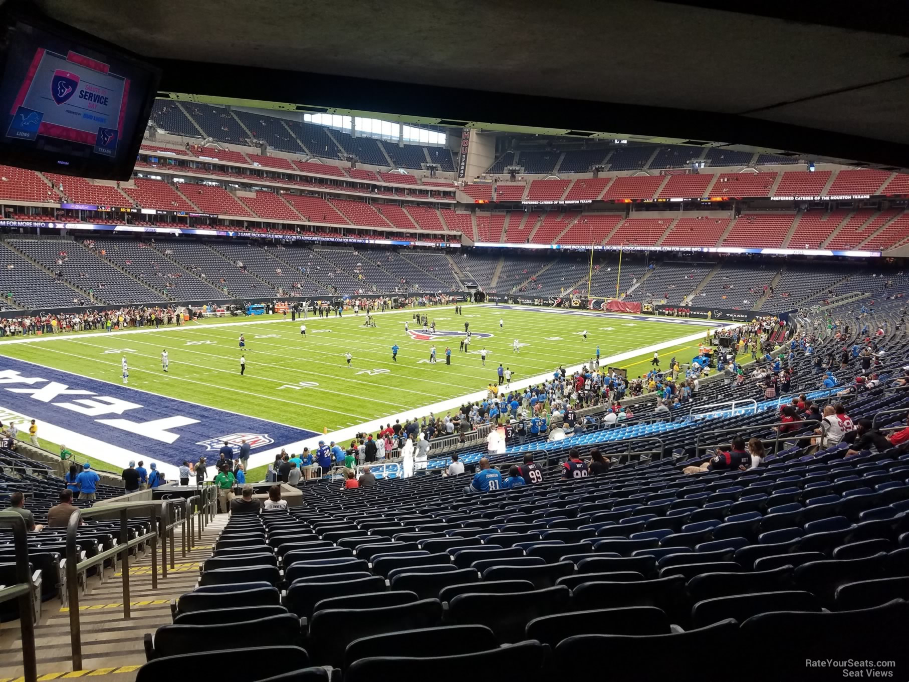 NRG Stadium Section 132 Row JJ on 10 30 2016k
