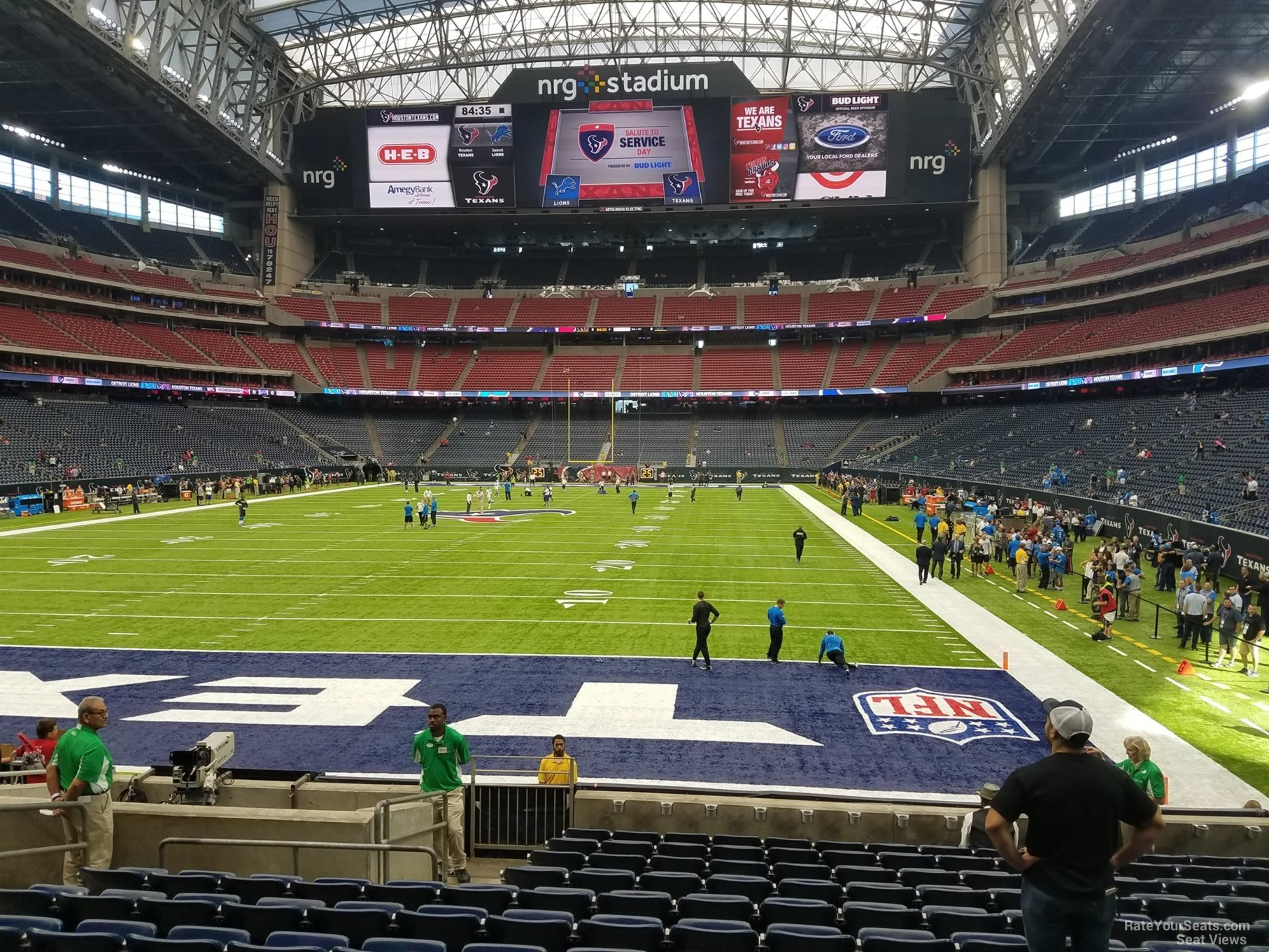 Houston Texans Nrg Stadium Section 135 Rateyourseats Com