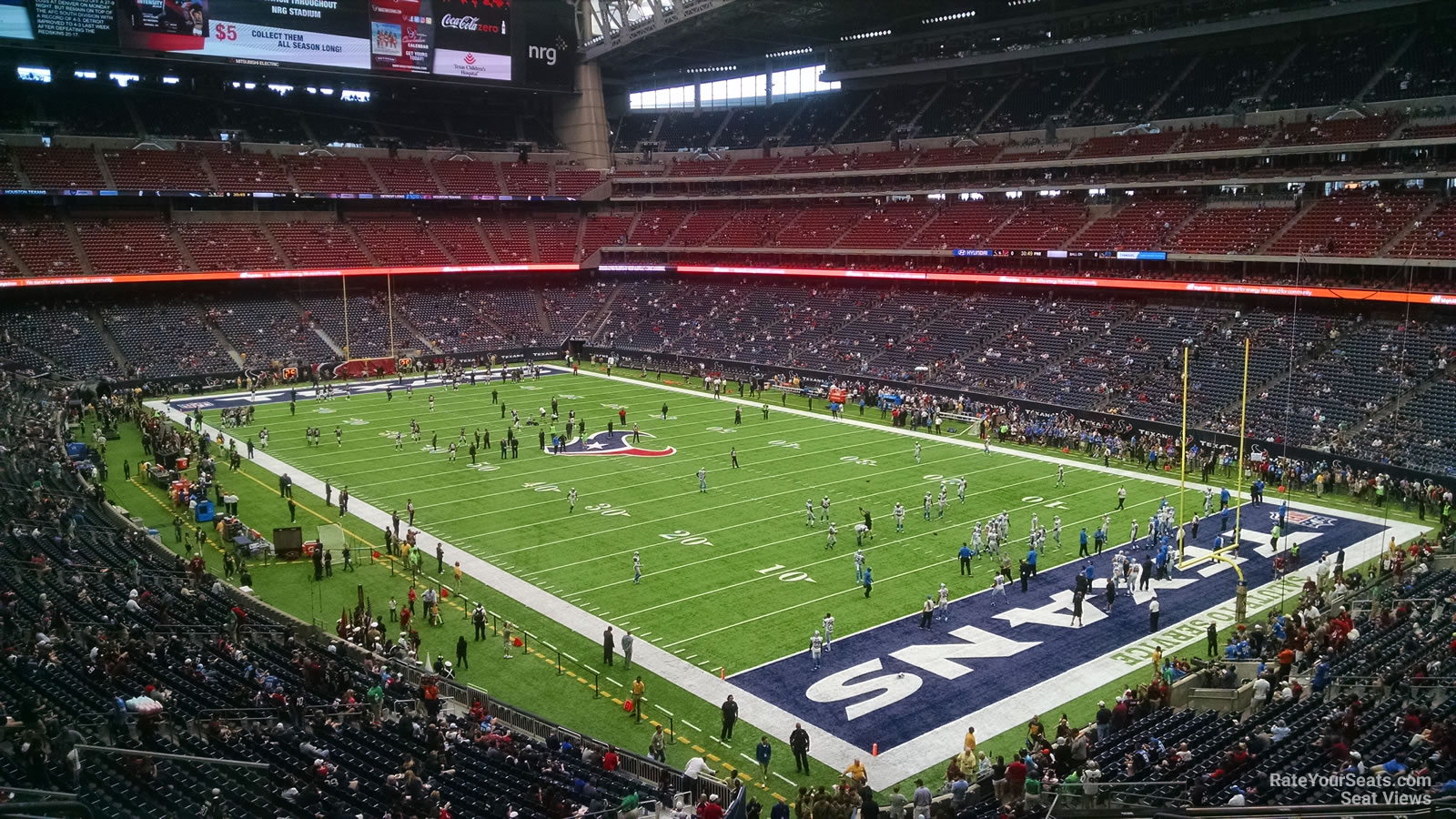 Houston Texans Seat View for NRG Stadium Section 302, Row L