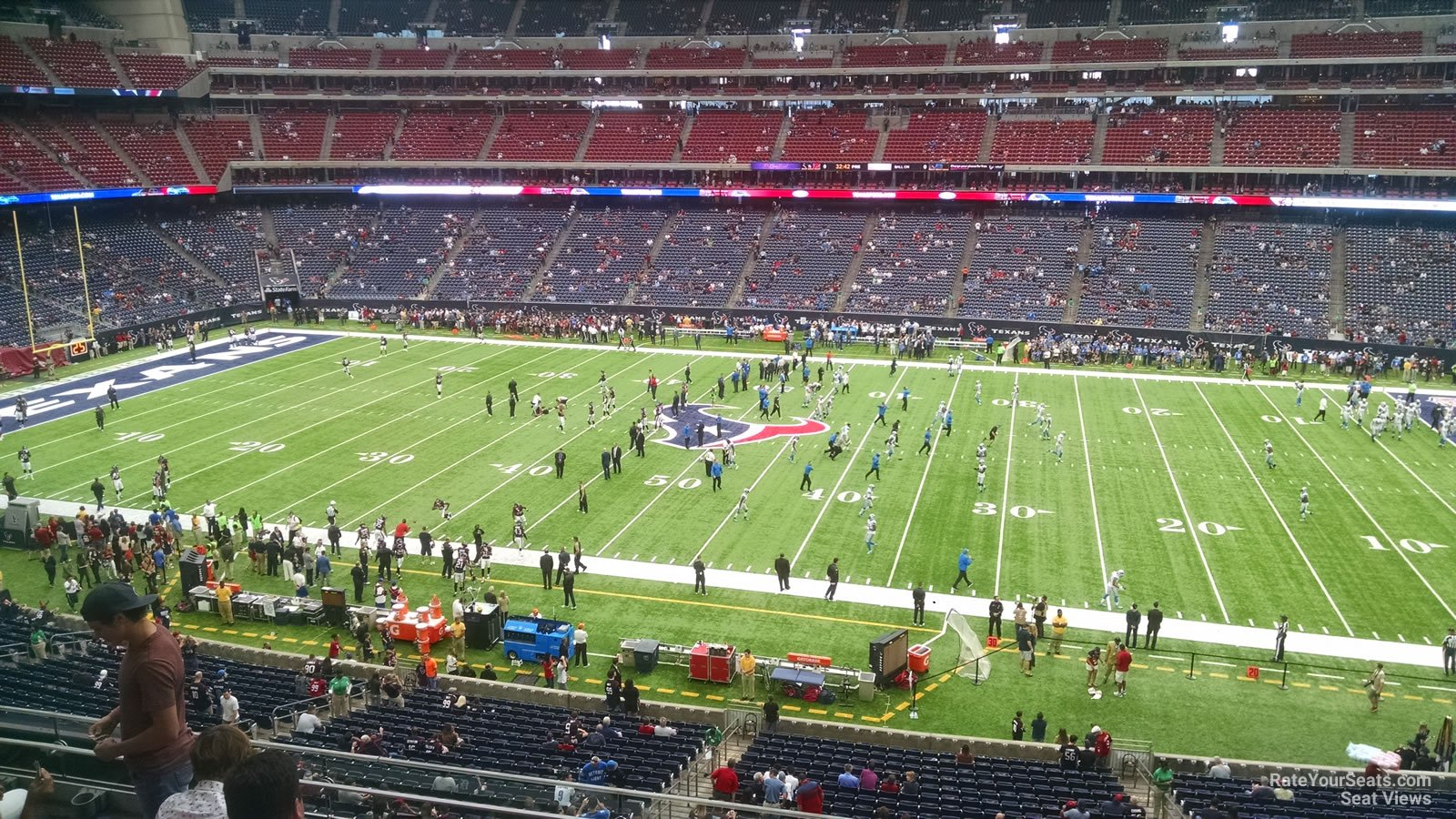 Houston Texans Seat View for NRG Stadium Section 308, Row L