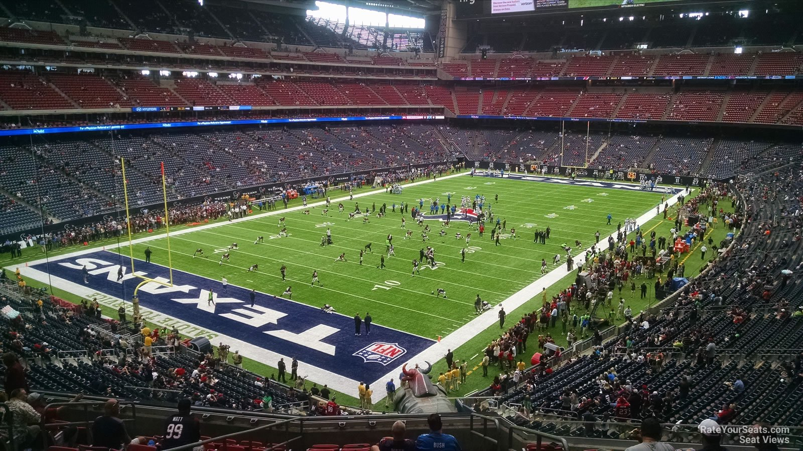 Houston Texans Seat View for NRG Stadium Section 318, Row L