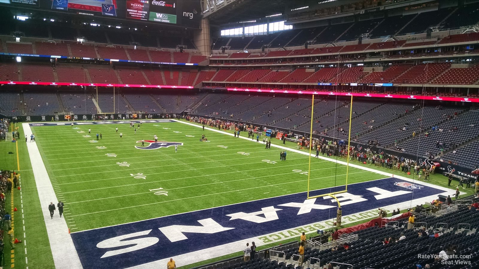 Houston Texans Seat View for NRG Stadium Section 326, Row A