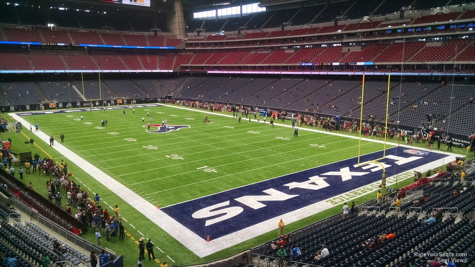 Houston Texans Seat View for NRG Stadium Section 328, Row A