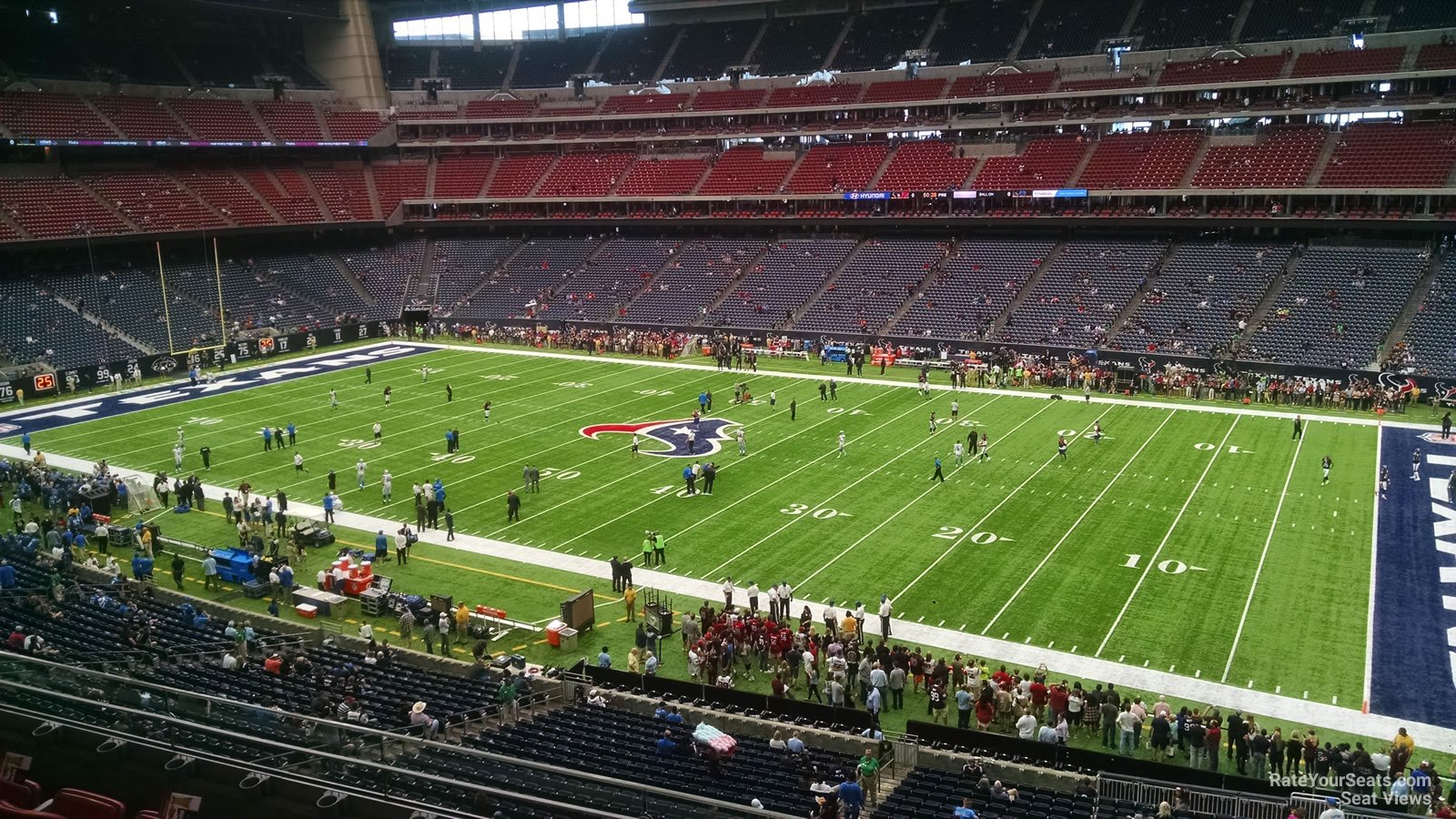 Houston Texans Seat View for NRG Stadium Section 334, Row L