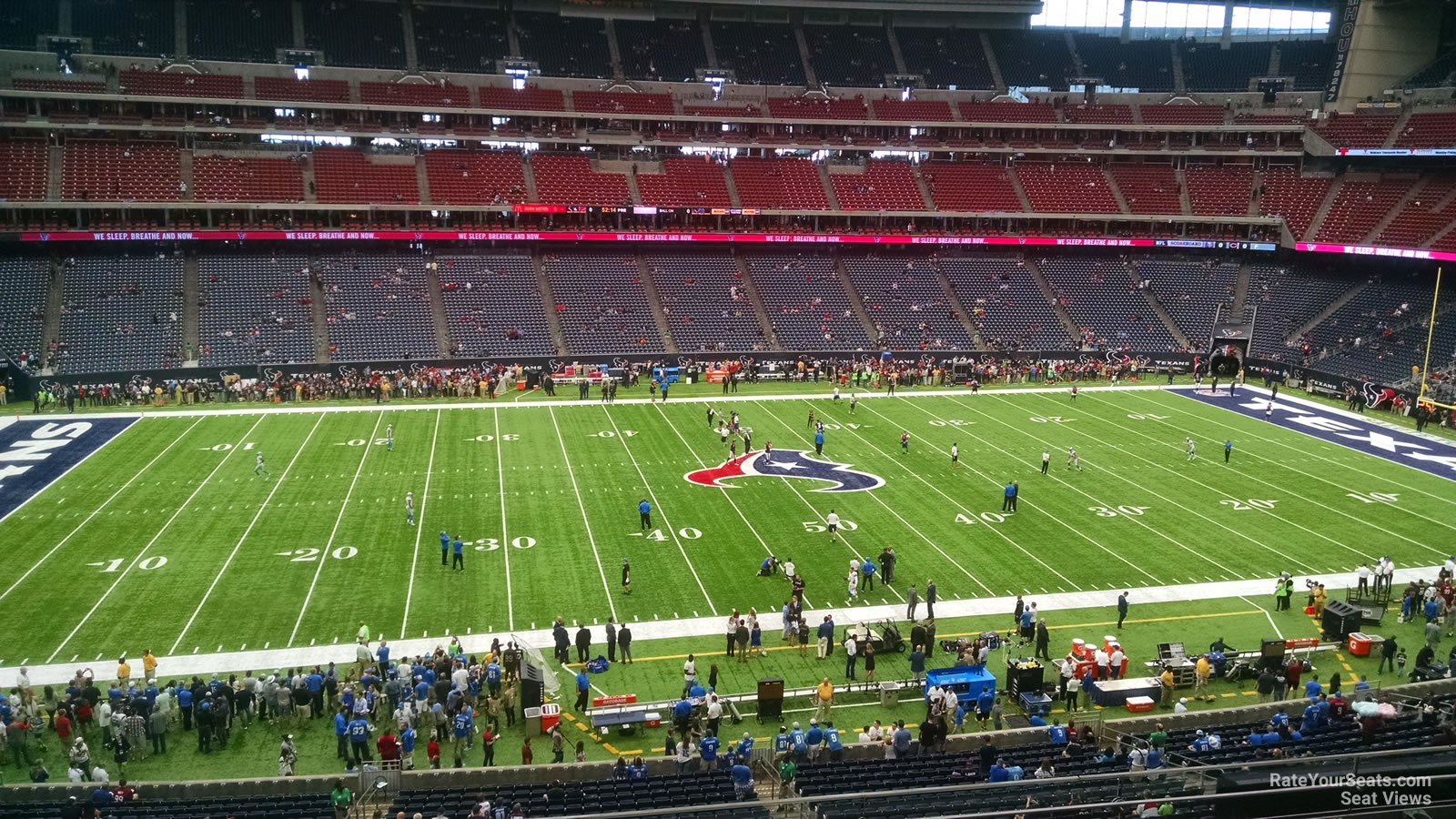 Houston Texans Seat View for NRG Stadium Section 339, Row L
