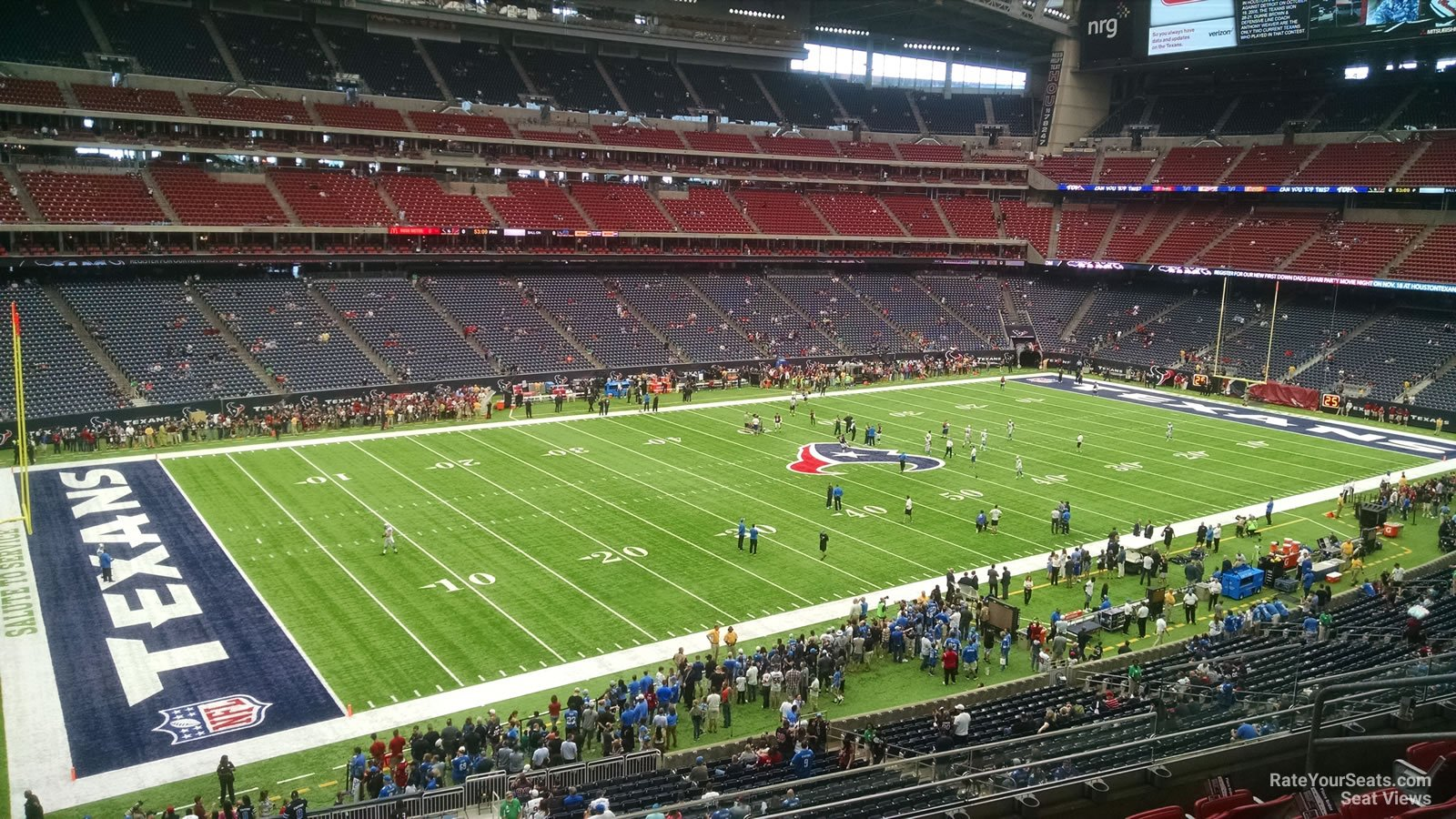 Houston Texans Seat View for NRG Stadium Section 342, Row L