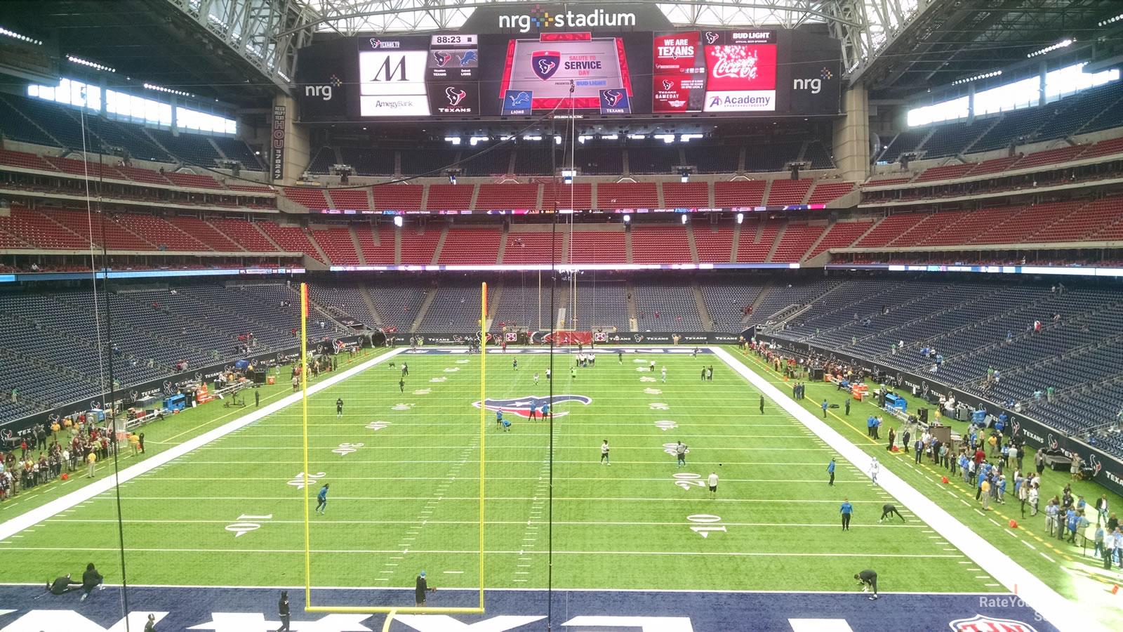 Nrg Stadium Section 351 Houston Texans Rateyourseats Com