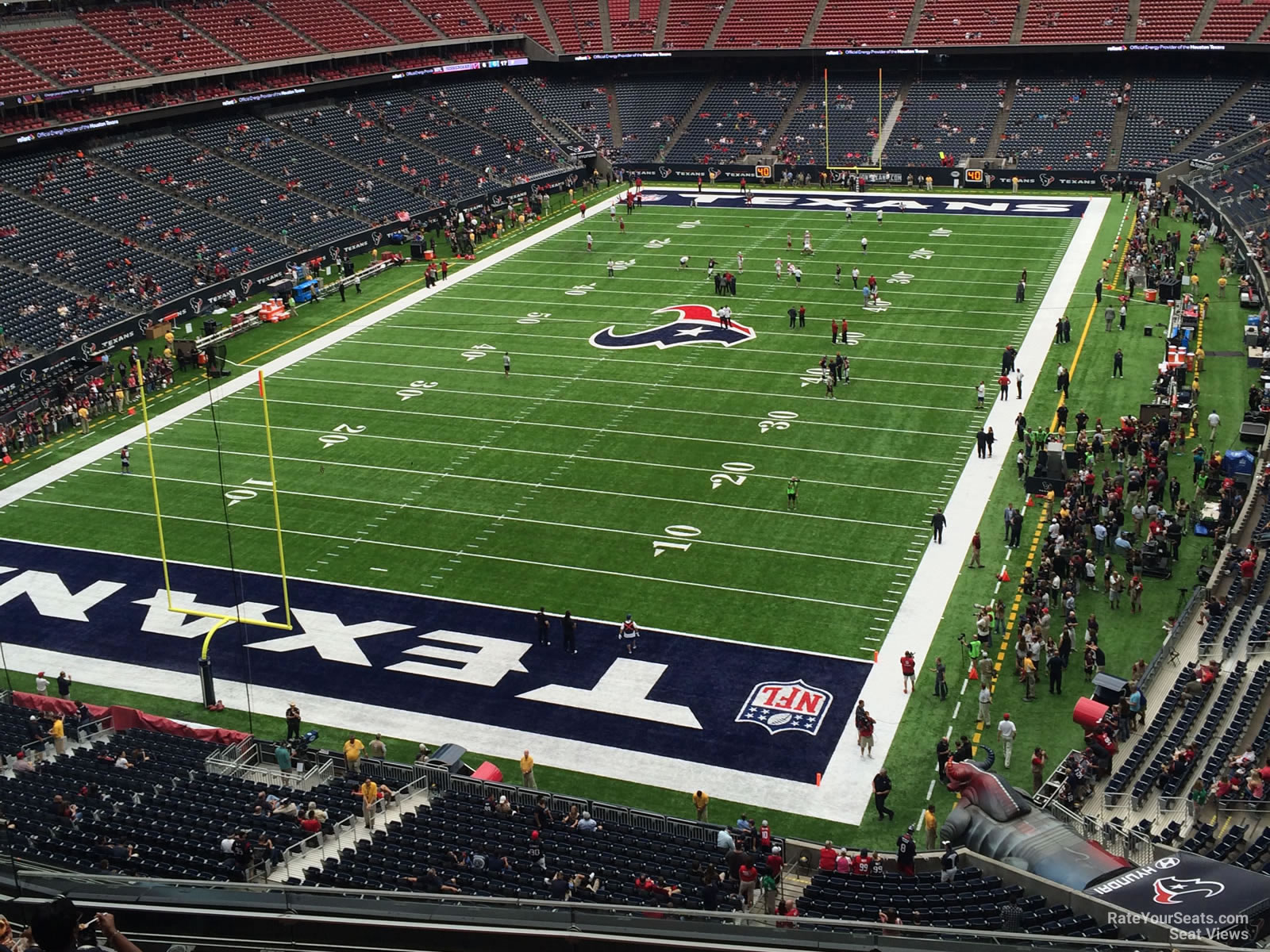 Houston Texans Seat View for NRG Stadium Section 518, Row H