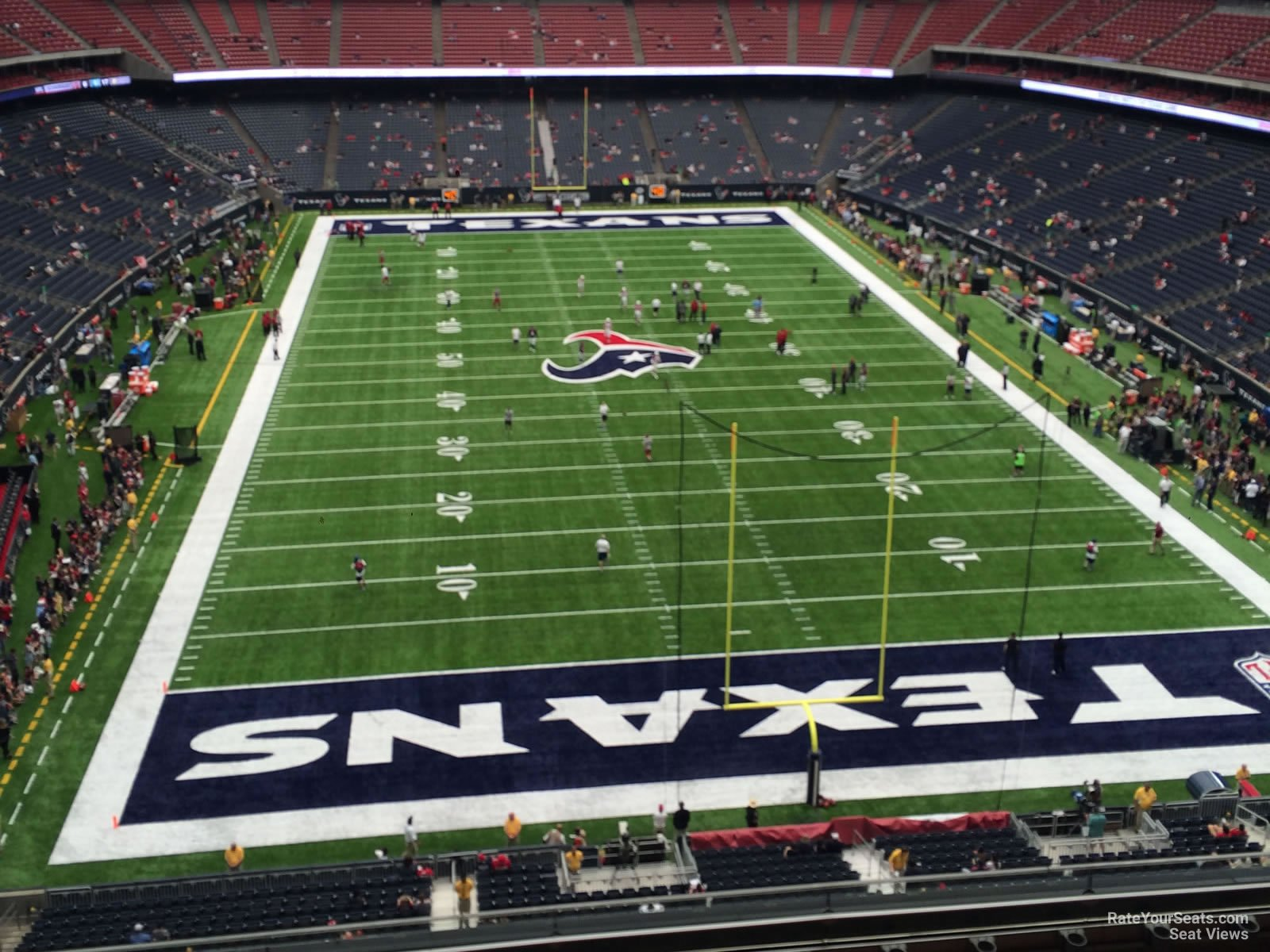 Houston Texans Seat View for NRG Stadium Section 522, Row H