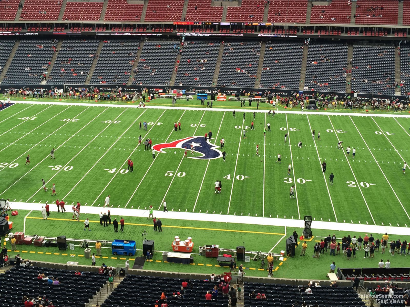 Houston Texans Seat View for NRG Stadium Section 533, Row H