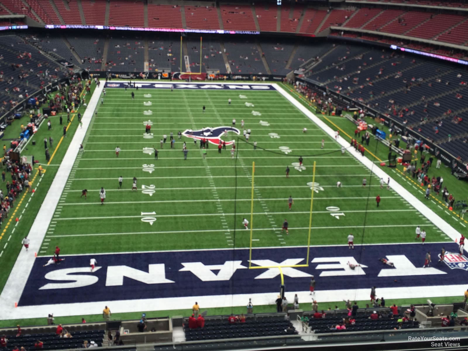 Houston Texans Seat View for NRG Stadium Section 548, Row H