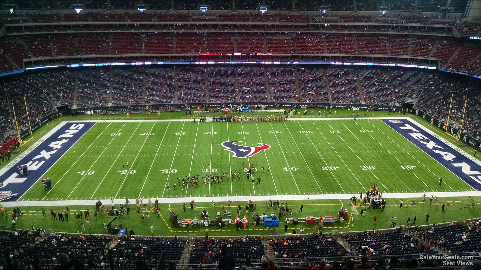 Houston Texans Seat View for NRG Stadium Section 609, Row F