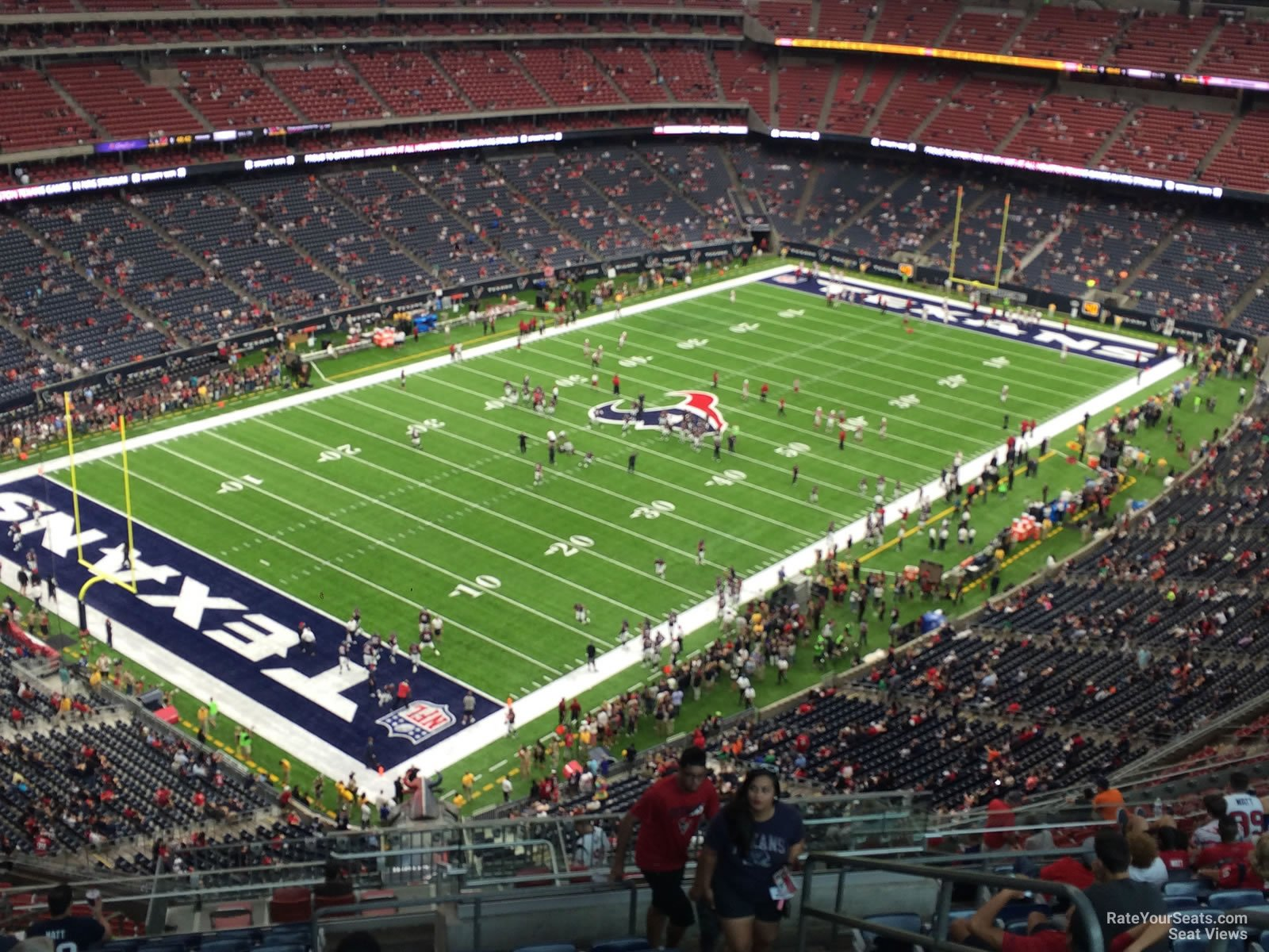 Houston Texans Seat View for NRG Stadium Section 617, Row P