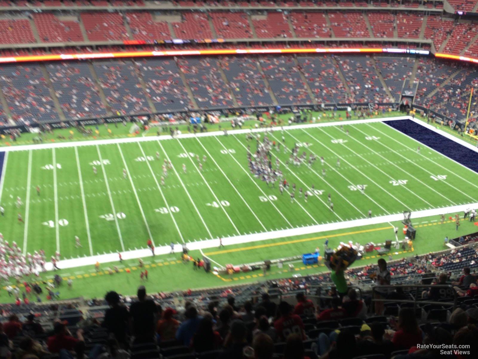 Seta az urallomason 636 - Houston Texans Seat View For Nrg Stadium Section 636