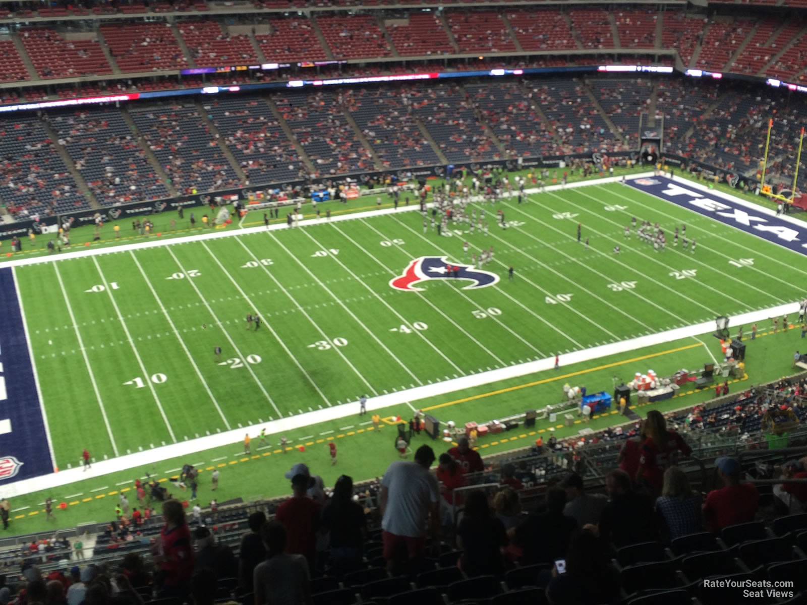 Houston Texans Seat View for NRG Stadium Section 637, Row P