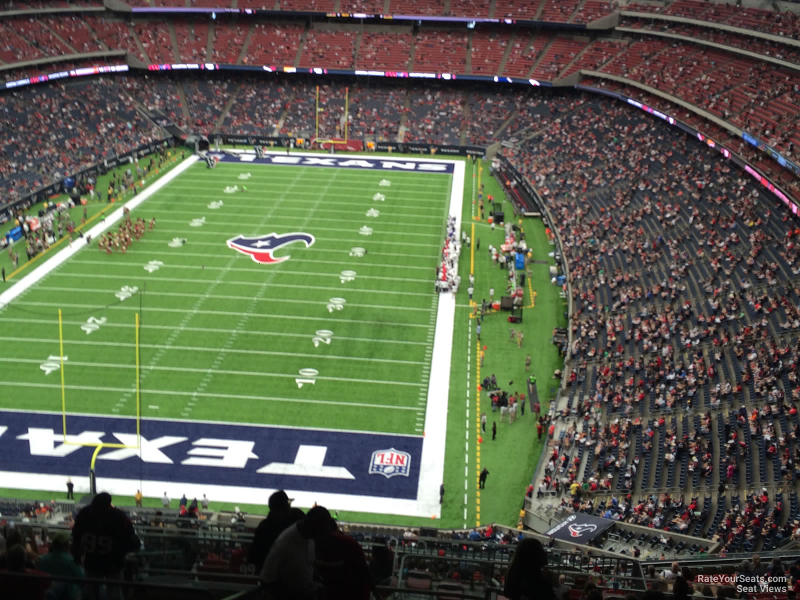 Houston Texans Seat View for NRG Stadium Section 644, Row P
