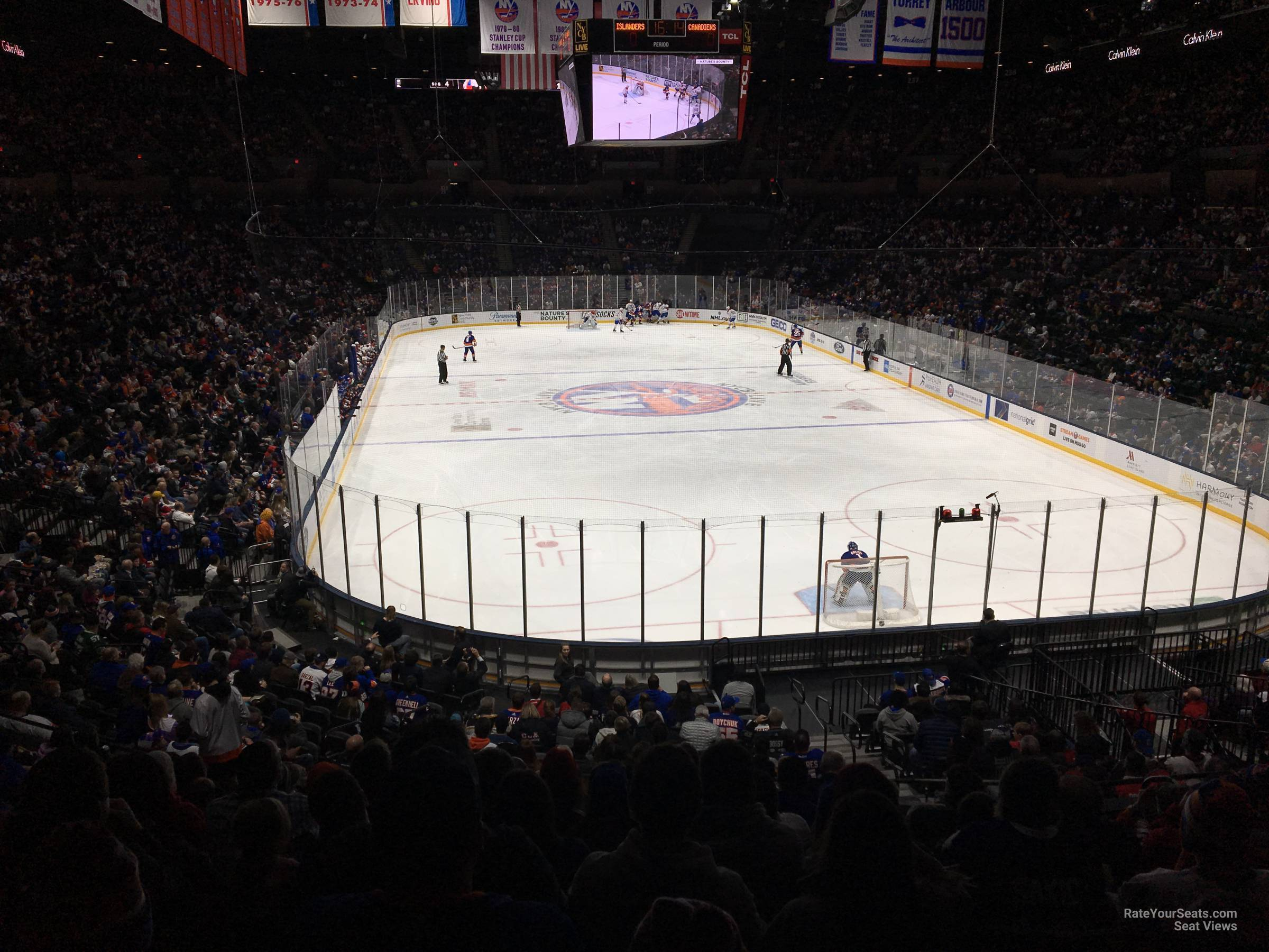 Seat View for Nassau Coliseum Section 111, Row 10