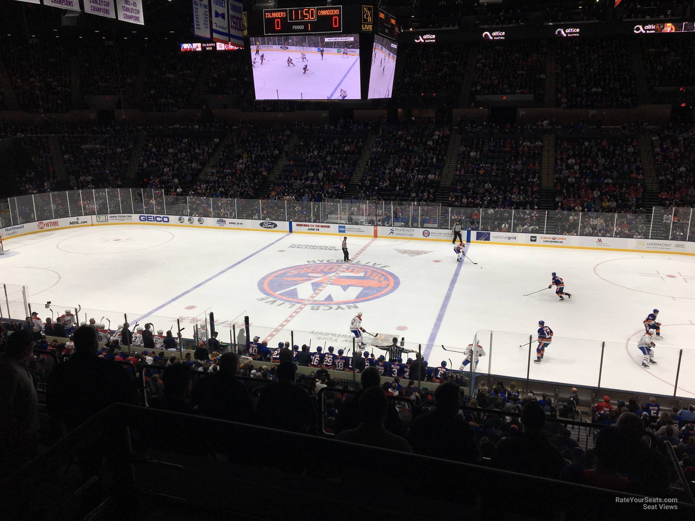 Section 222 seat view