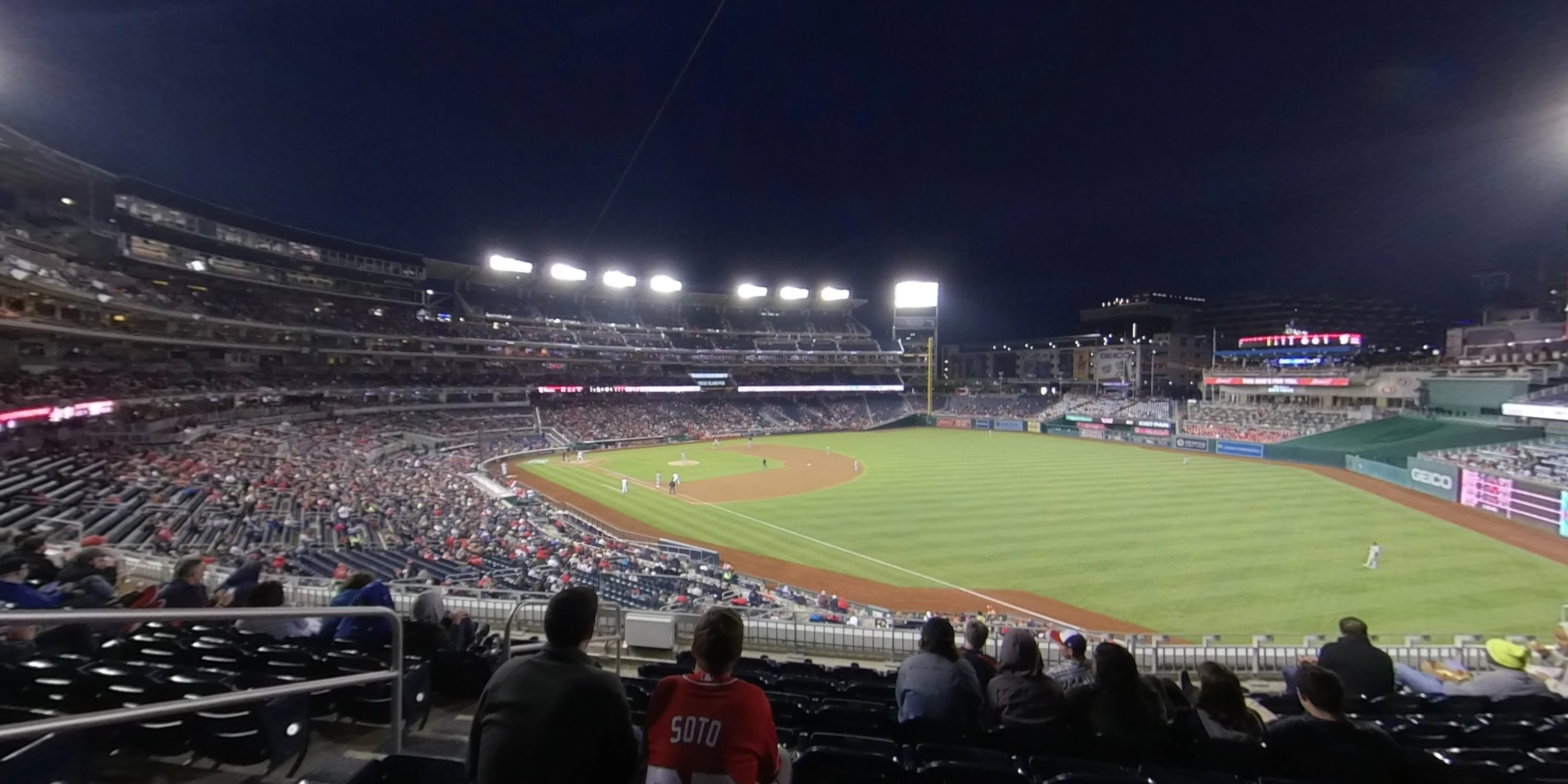 360° Photo From Nationals Park Section 229