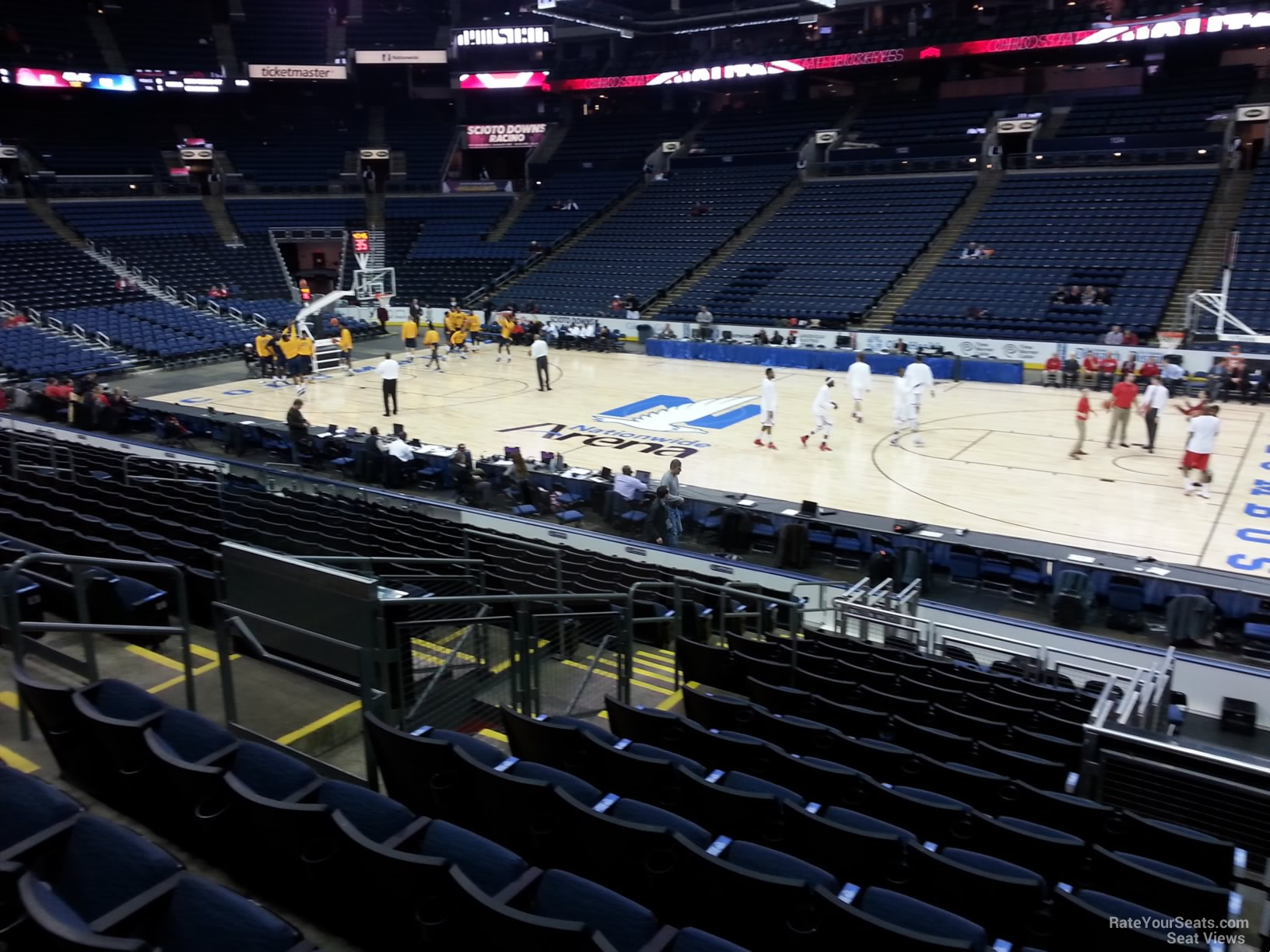 nationwide arena seating rows  u2013 review home decor