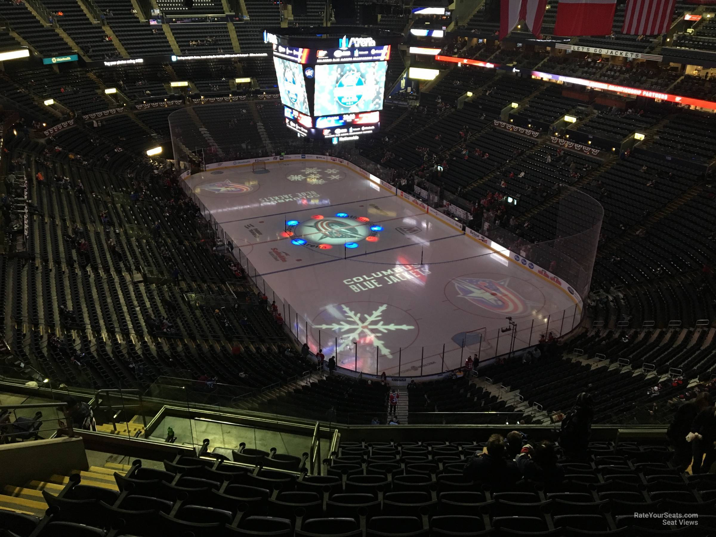 Nationwide Arena Section 212 Columbus Blue Jackets