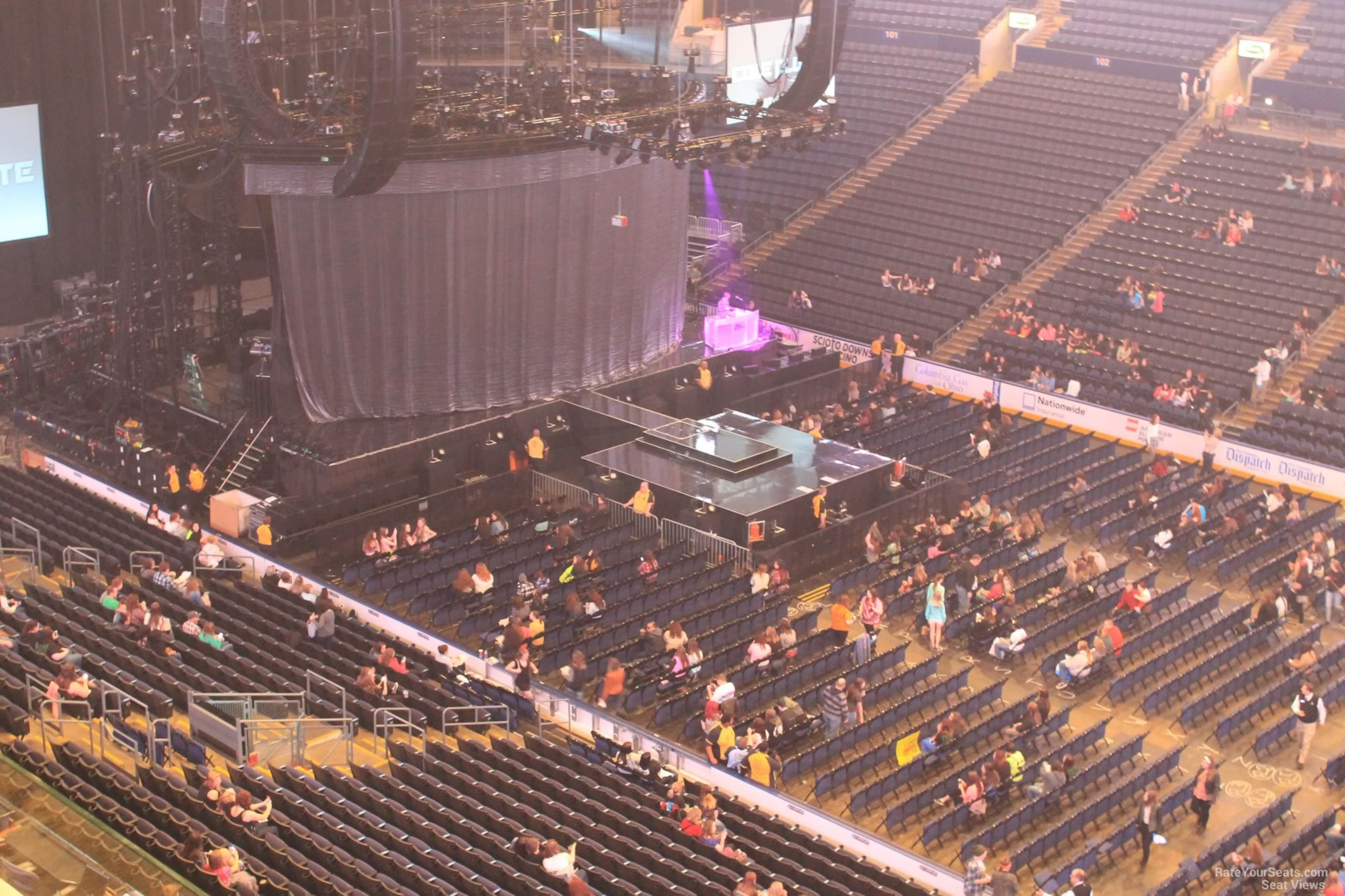 Best Seats At Nationwide Arena For Concert | Elcho Table
