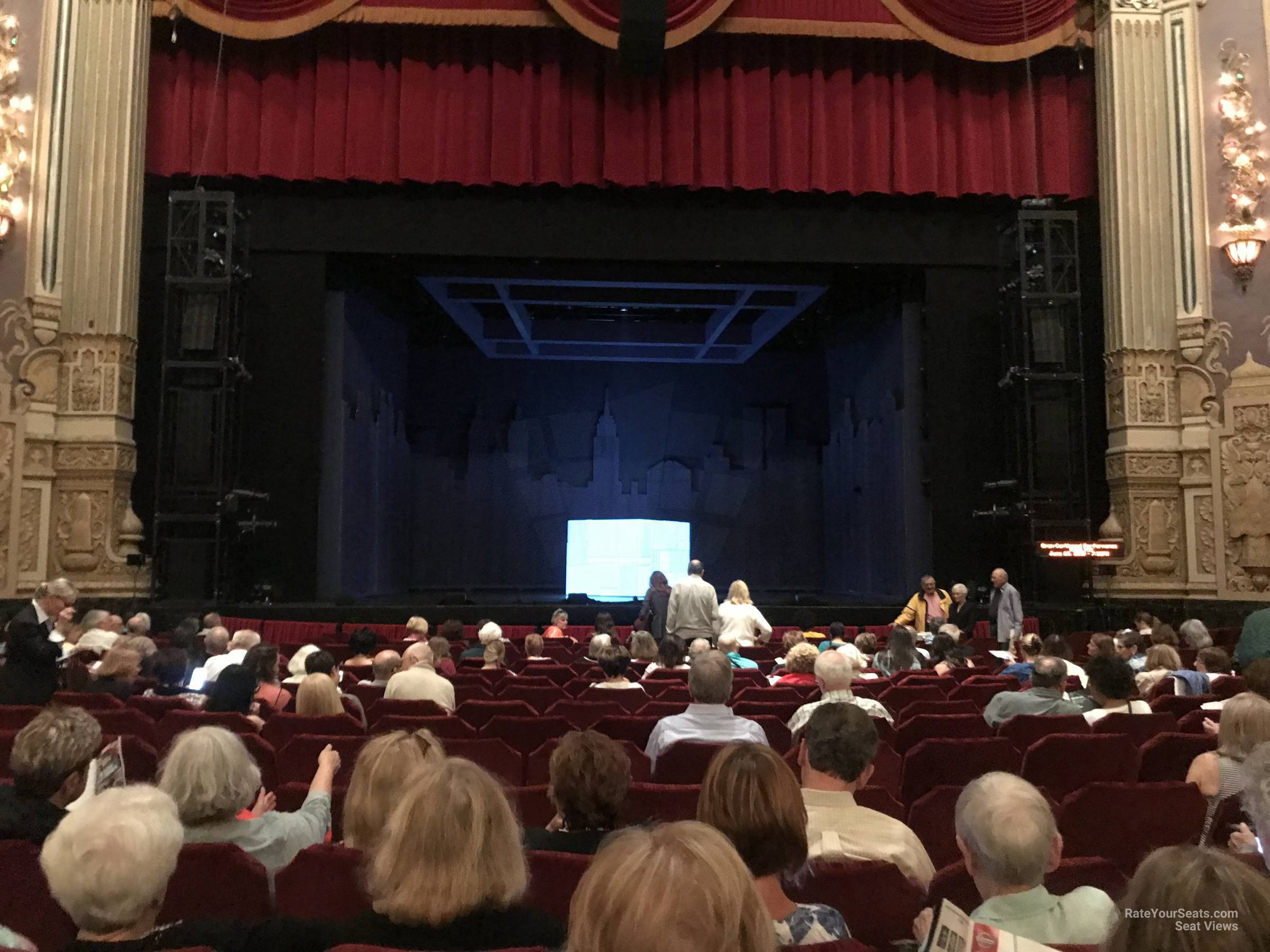 Orchestra Center seat view