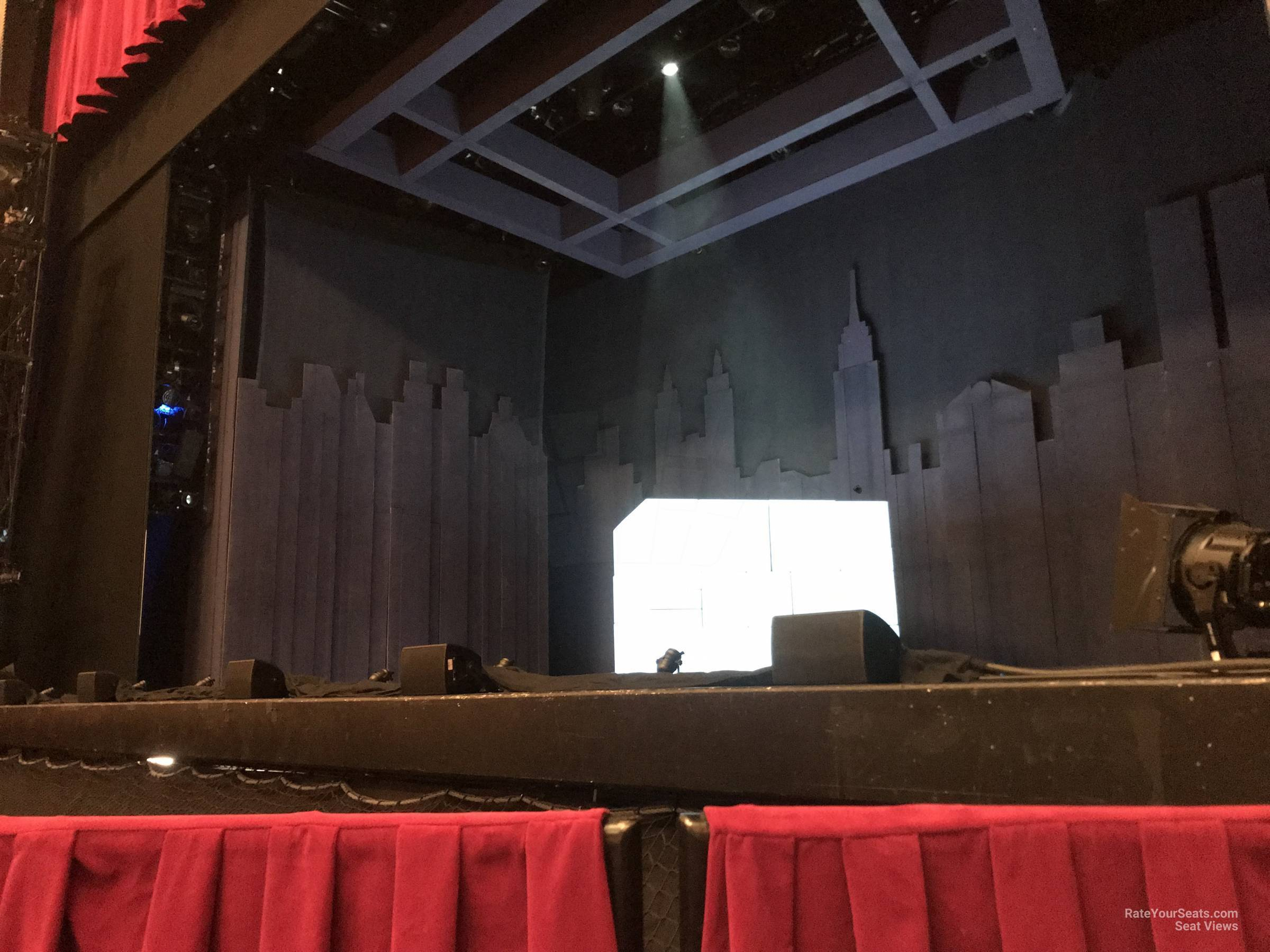 Orchestra Right seat view