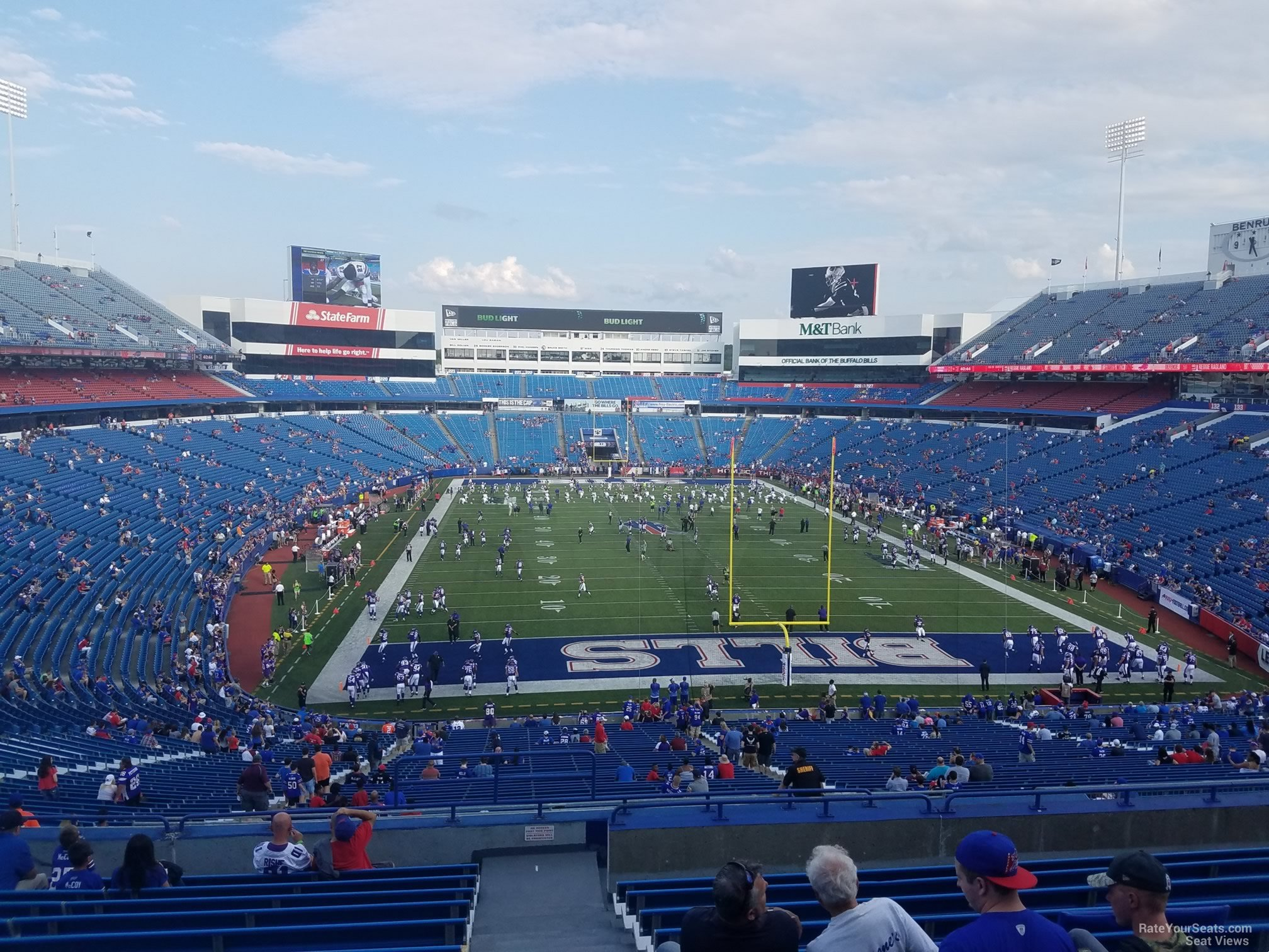 Standing Room Only seat view