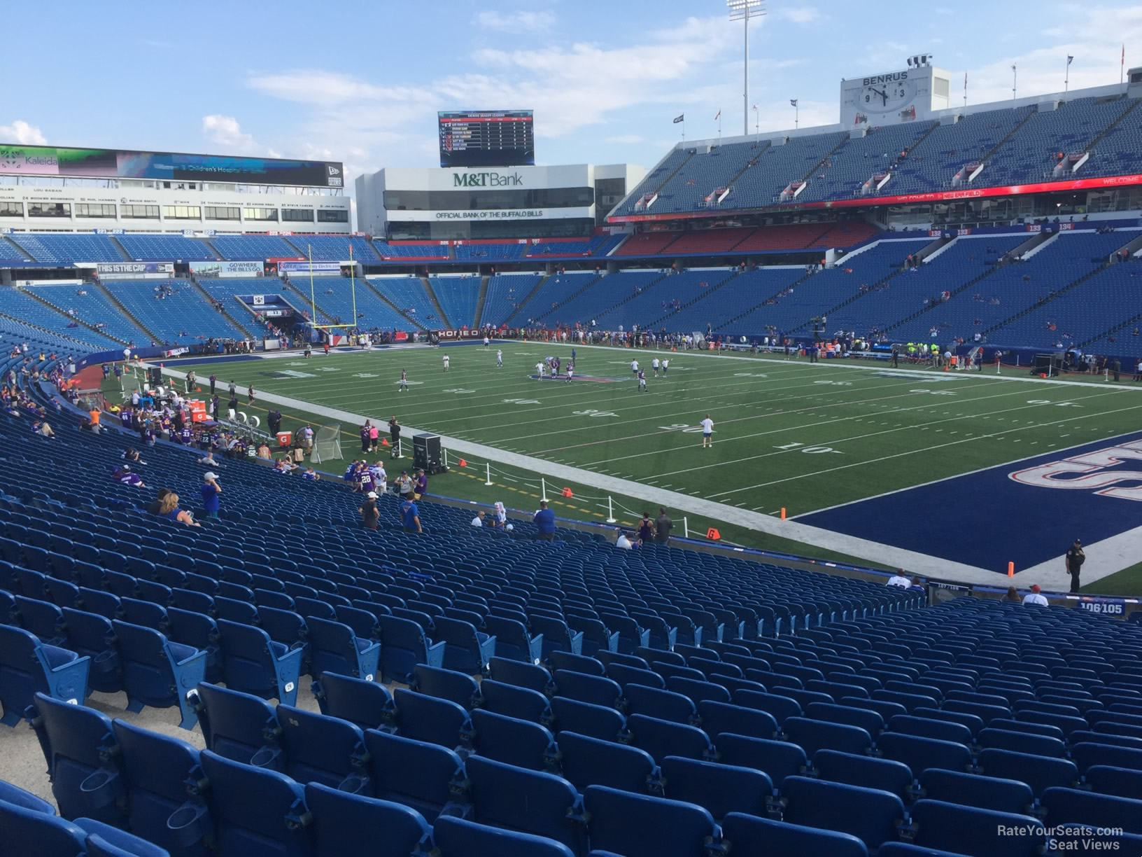 Seat View for New Era Field Section 106, Row 30