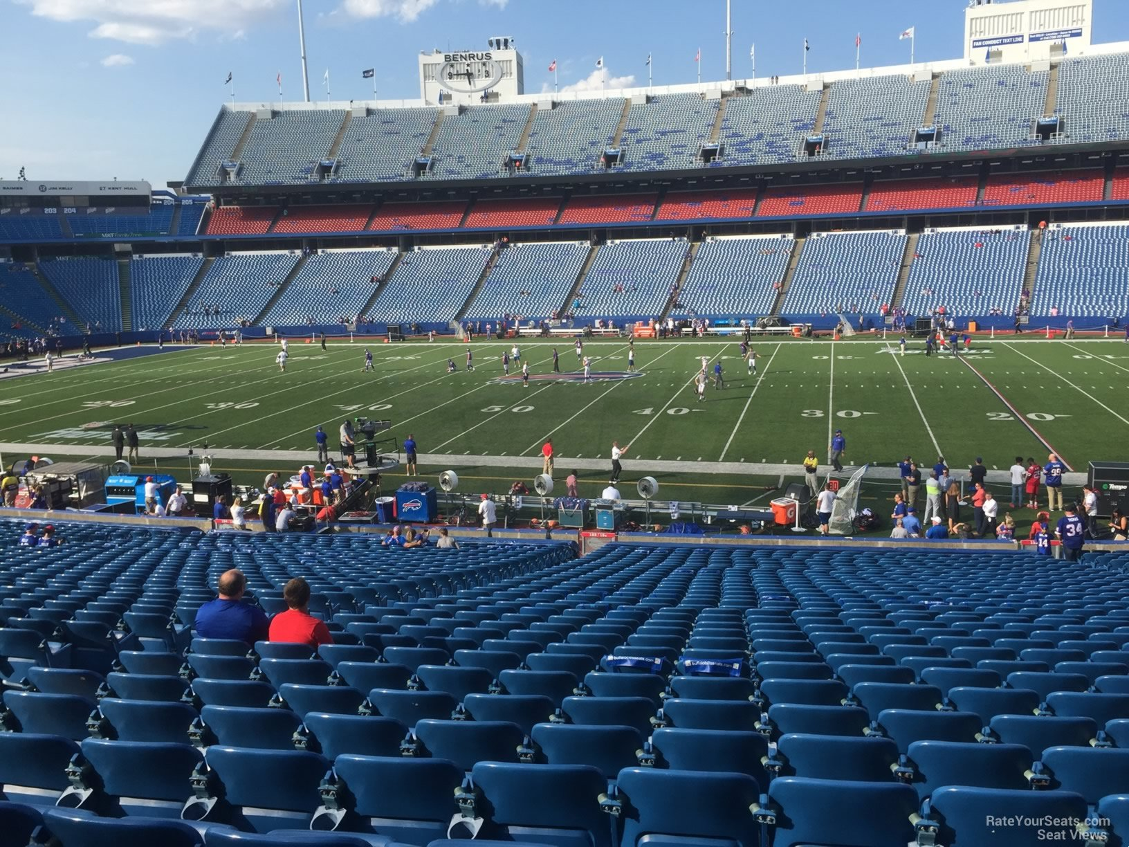 Seat View for New Era Field Section 132, Row 30