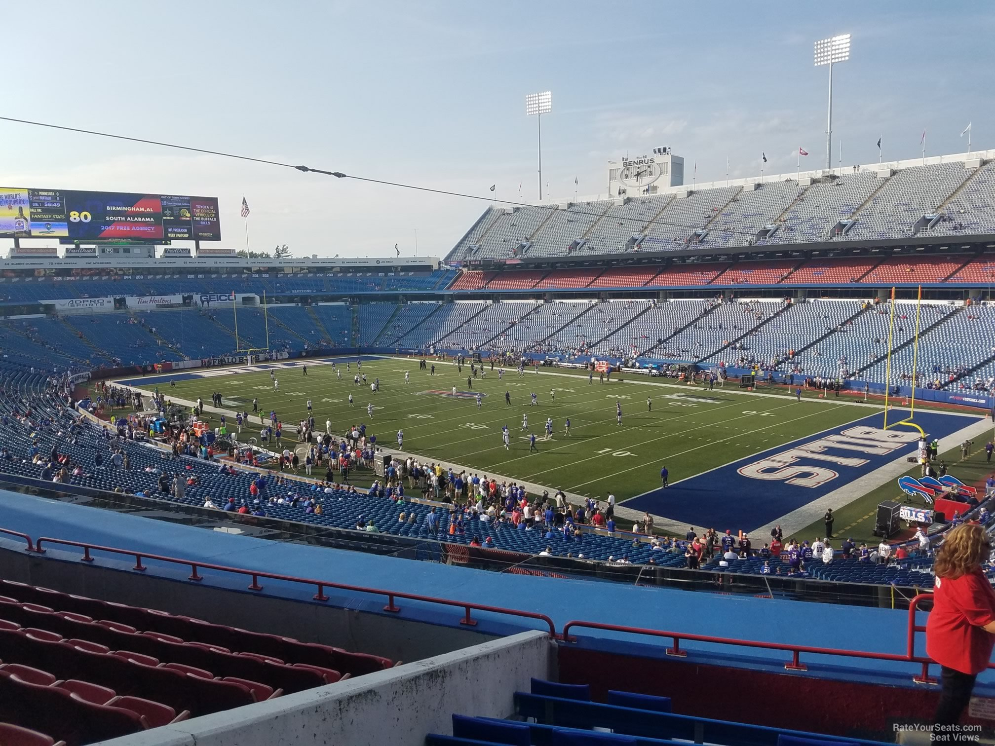 Seat View for New Era Field Section 228, Row 9