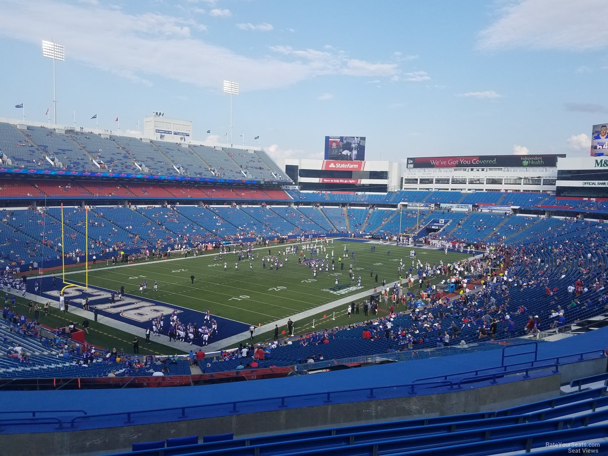 Section 240 seat view