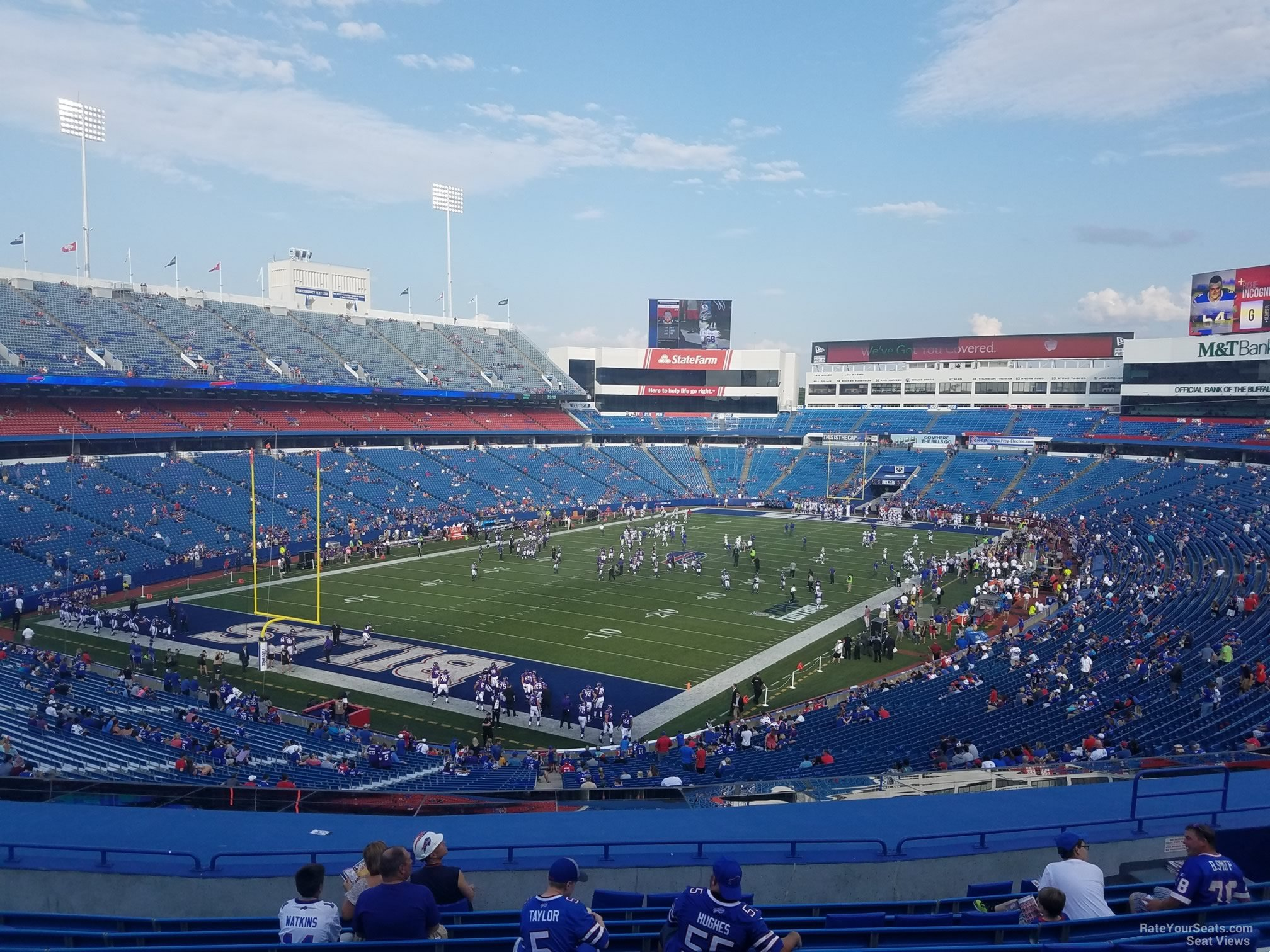 Section 241 seat view