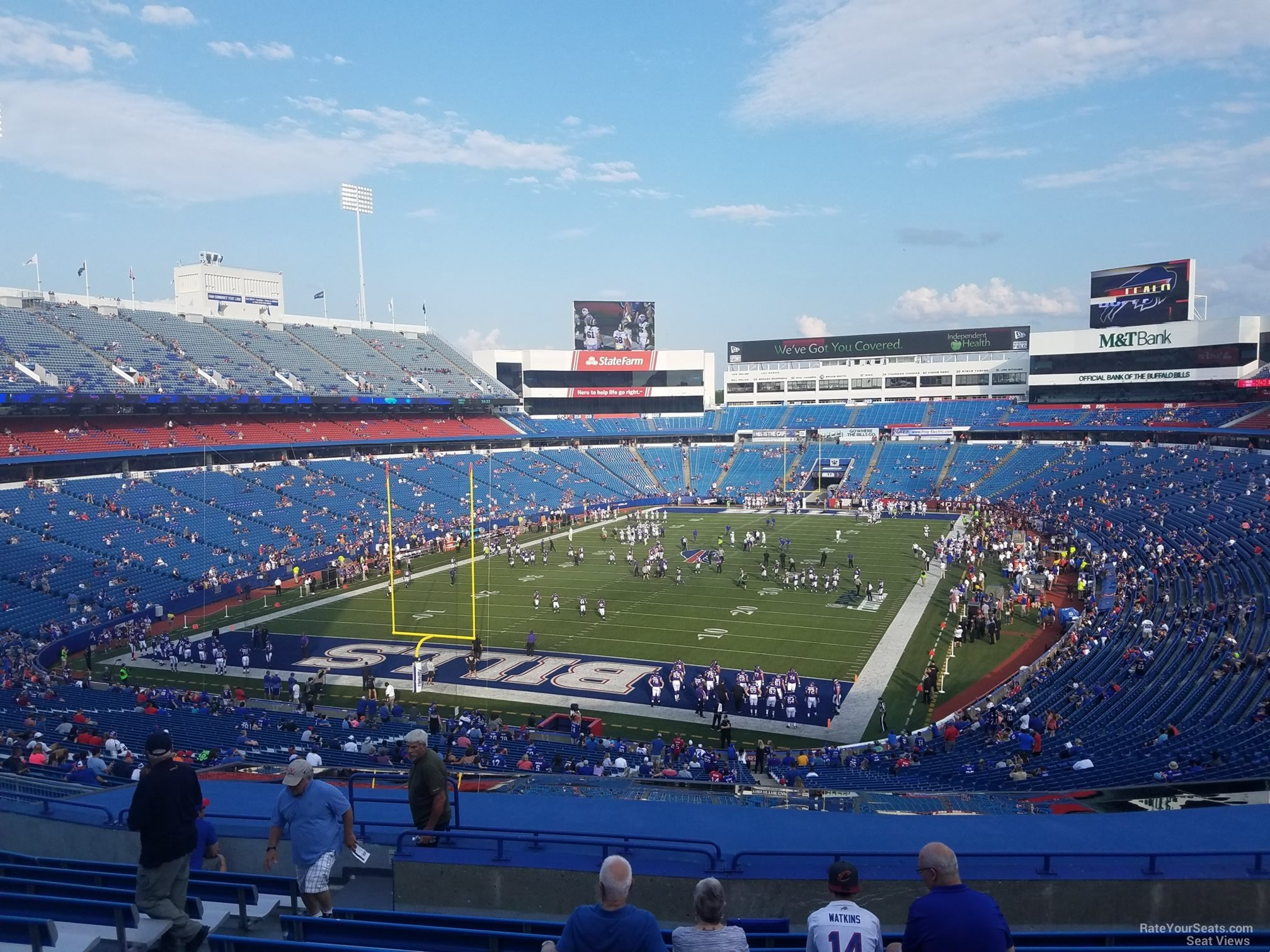 Section 242 seat view