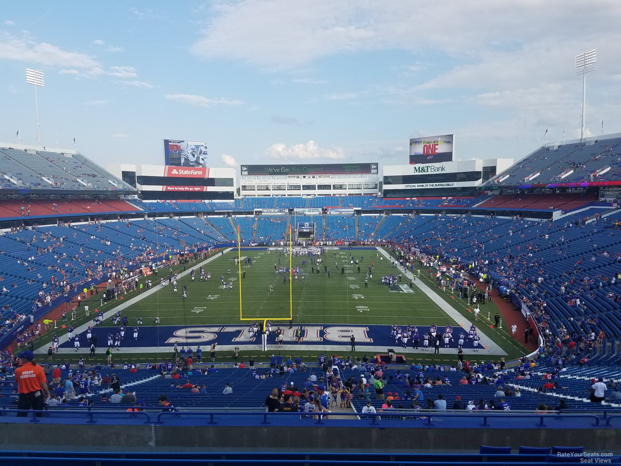 Section 244 seat view