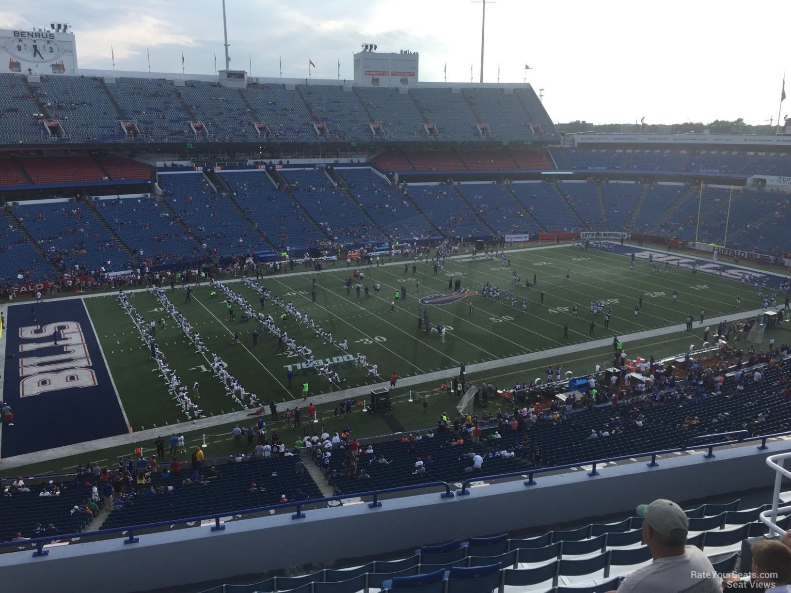 Seat View for New Era Field Section 315, Row 11