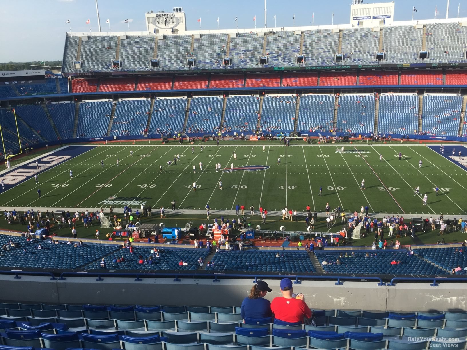 Seat View for New Era Field Section 333, Row 11