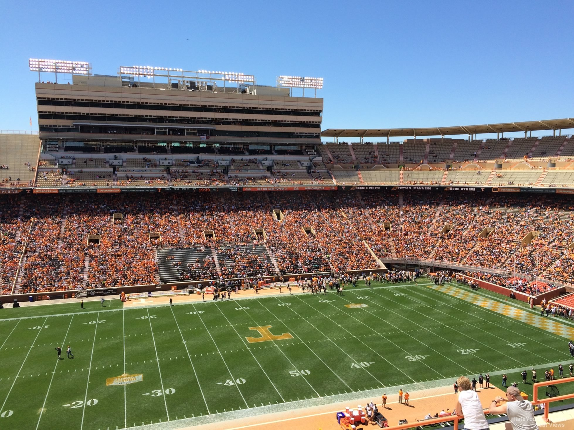 Neyland Stadium Seats Neyland Stadium Section Ee Rateyourseats Com Neyland Stadium Section Y9
