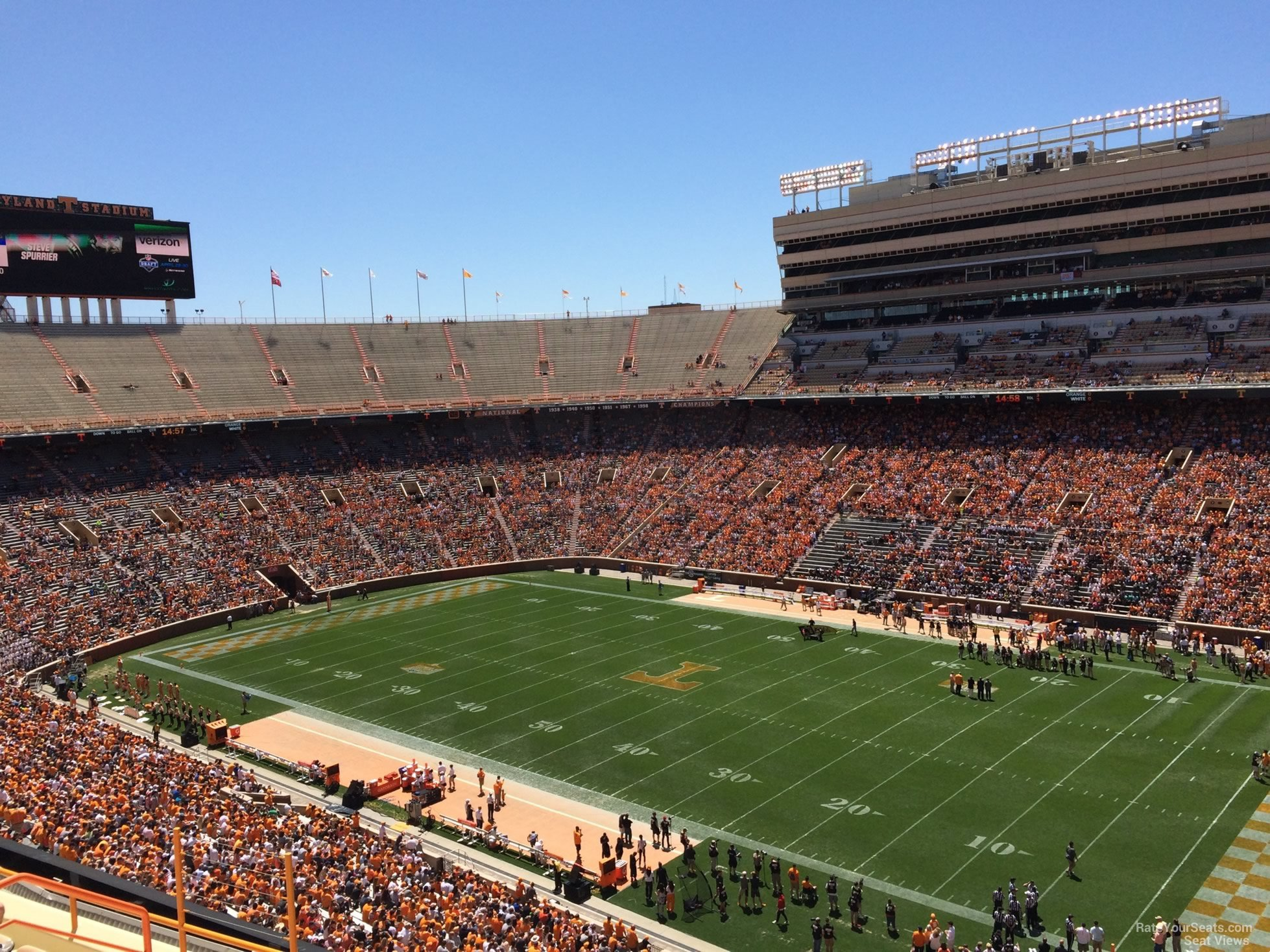 Section Z14 seat view