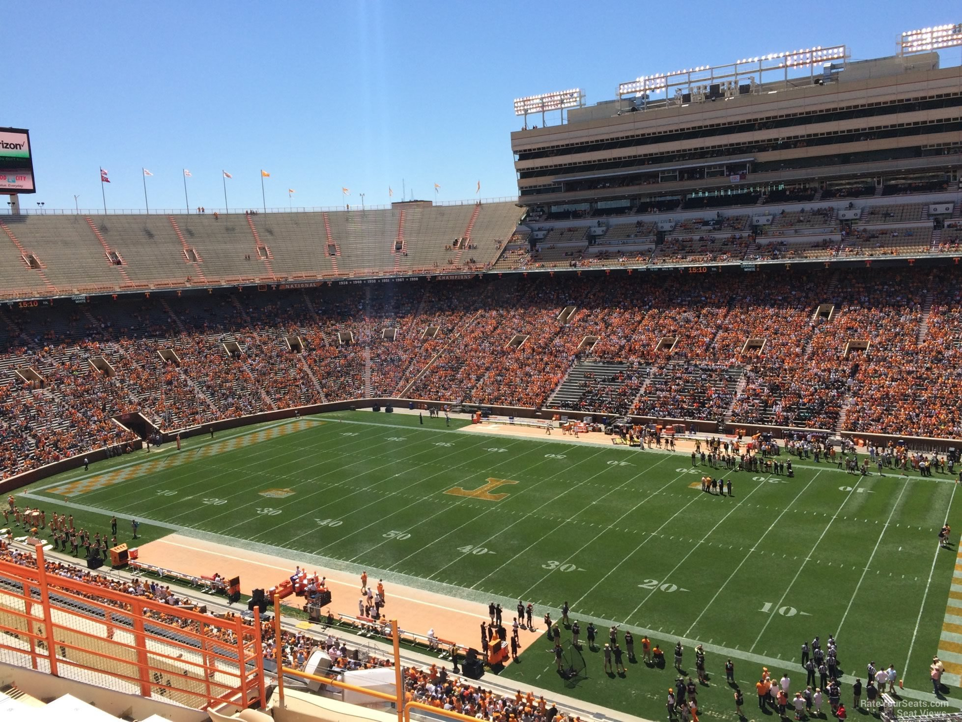 Section Z15 seat view