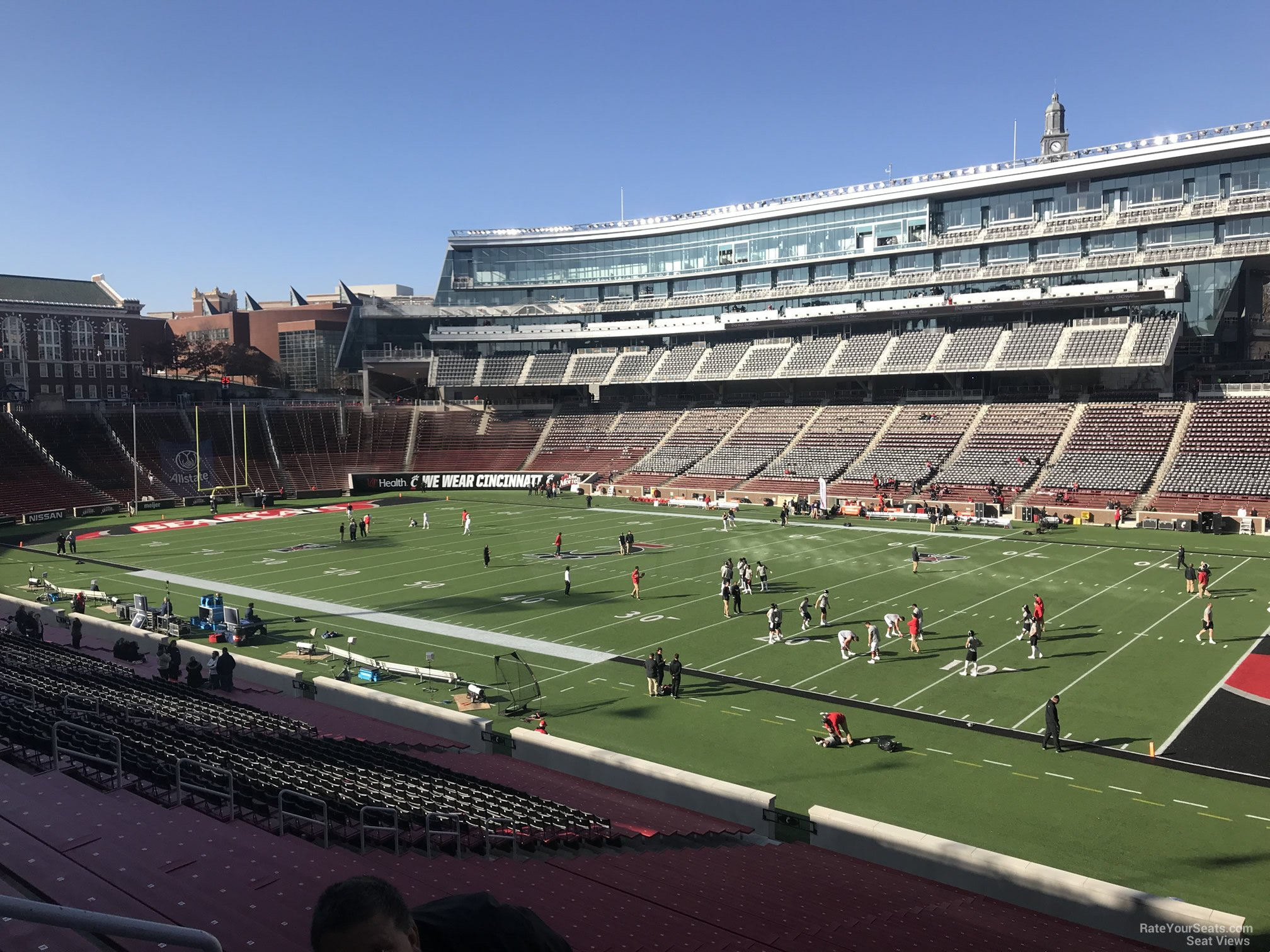 Cincinnati Bearcats Seat View for Nippert Stadium Section 101, Row 37