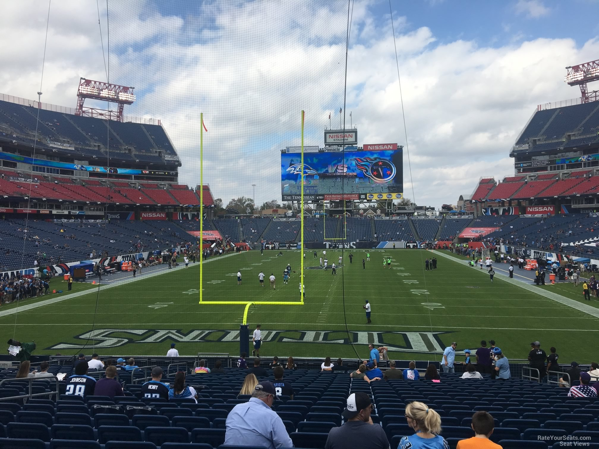 Nissan Stadium Section 123 Tennessee Titans