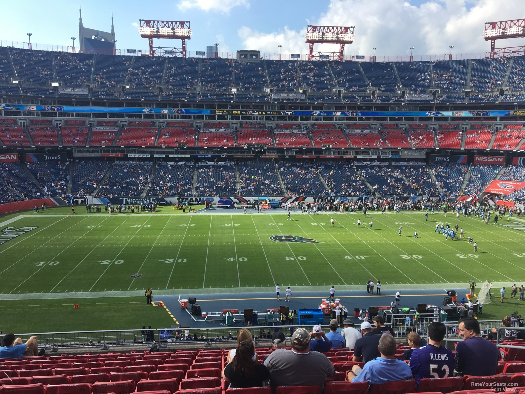Section 213 seat view
