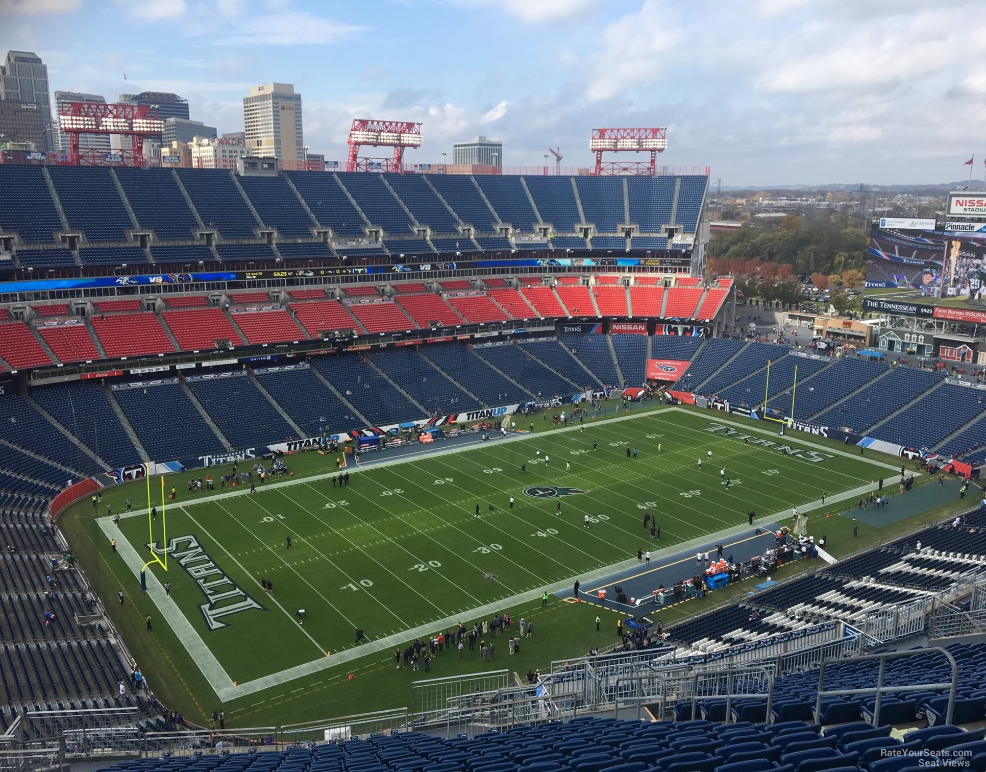 Section 318 at Nissan Stadium - Tennessee Titans ...