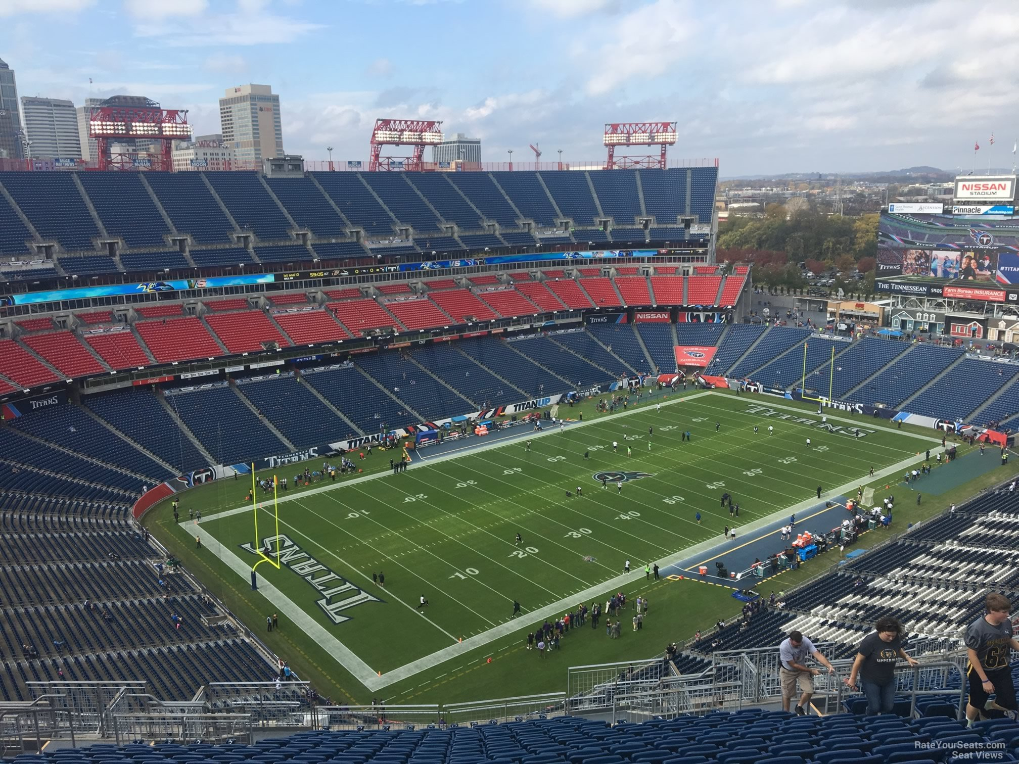 Wholesale Nissan Stadium Section 319 Tennessee Titans  for cheap