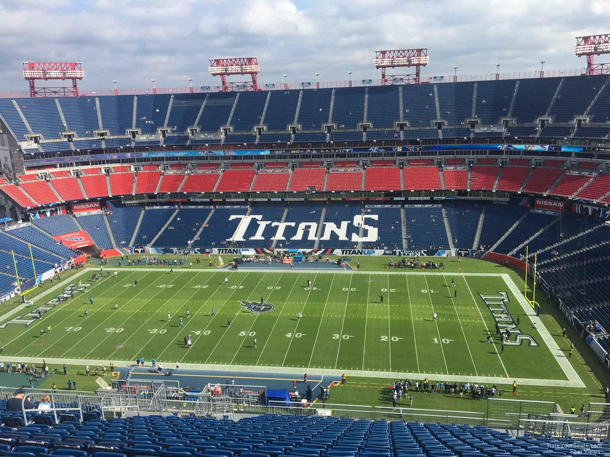 Nissan Stadium Section 333 Tennessee Titans