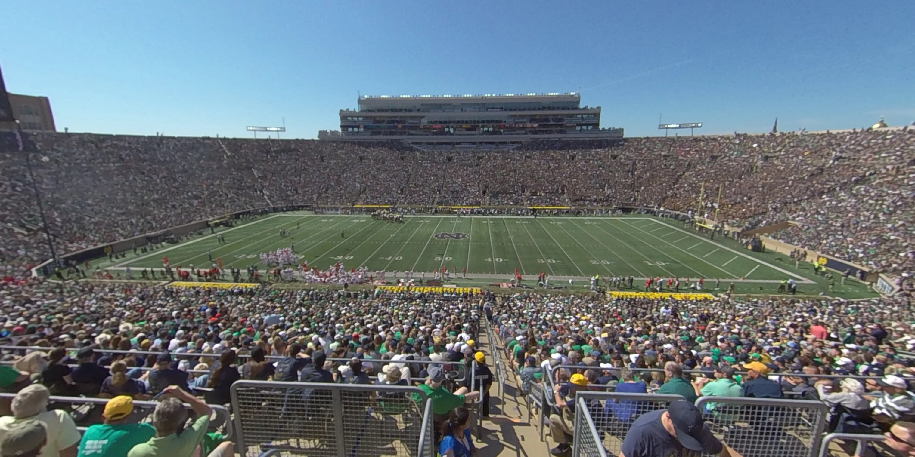 Section 109 at Notre Dame Stadium - RateYourSeats.com